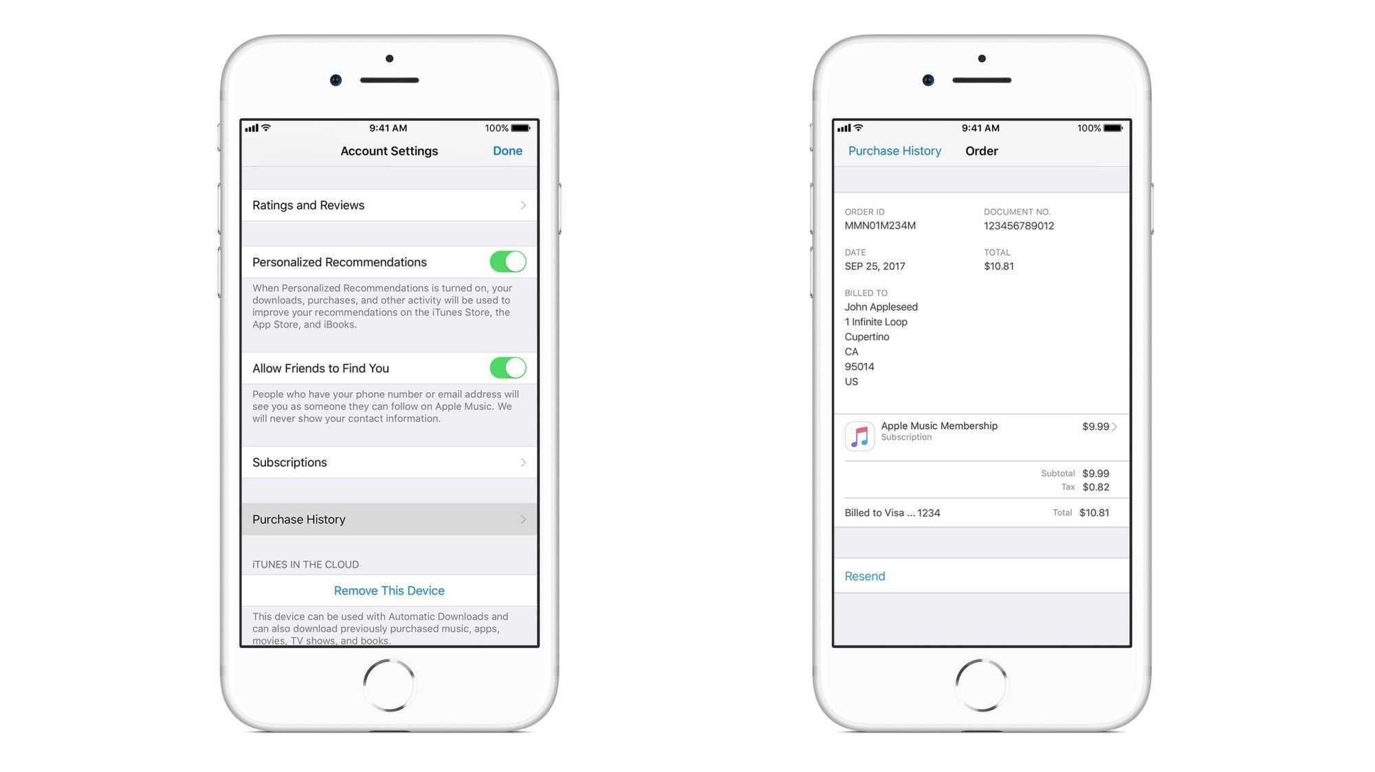 iOS-Geräte zeigen detaillierte App- und iTunes-Kaufgeschichte