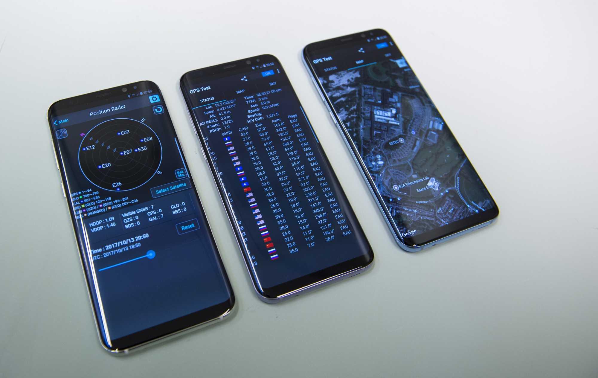 Galileo im Smartphone