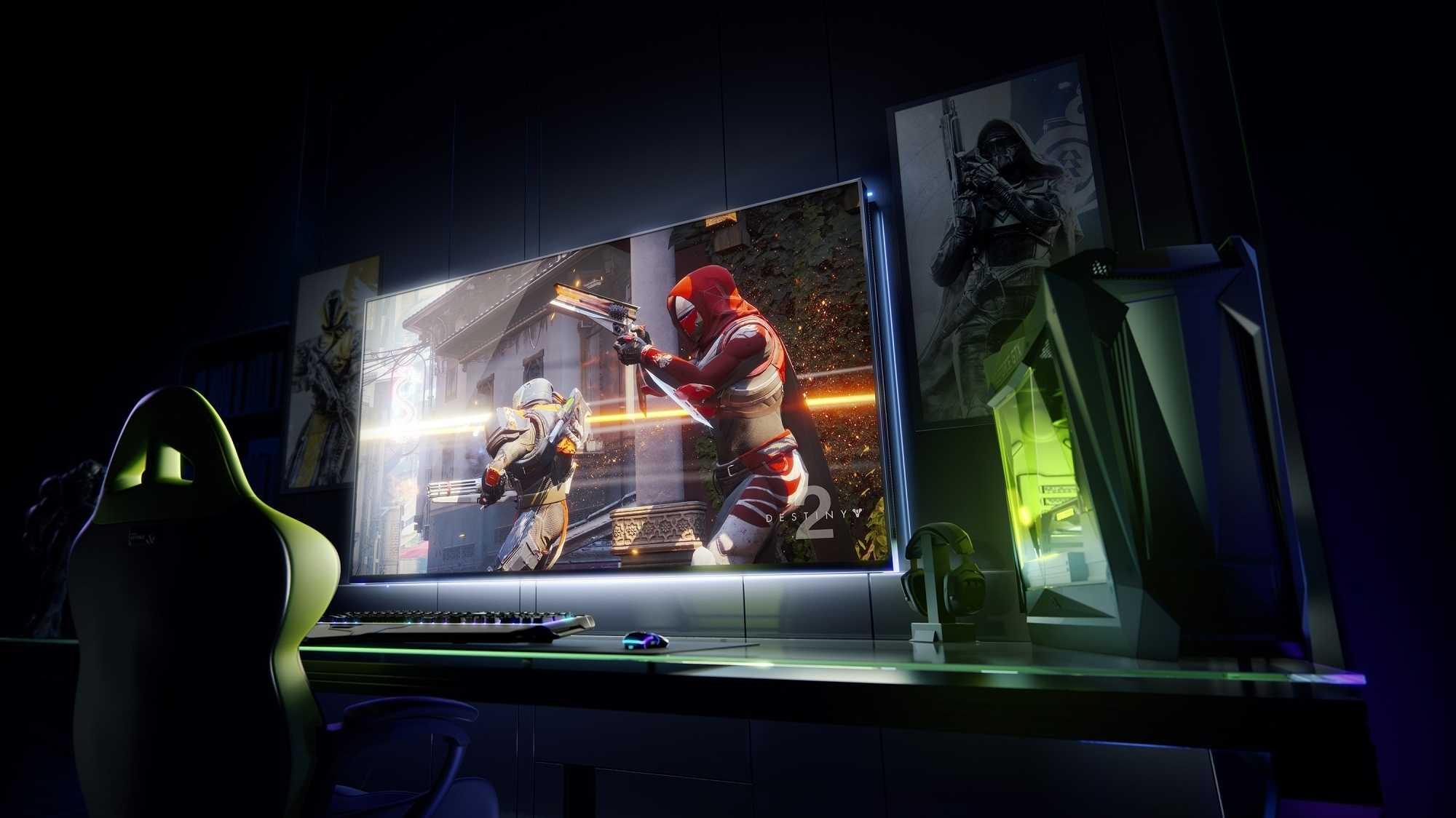 Nvidia BFGD: Zocken im Großformat