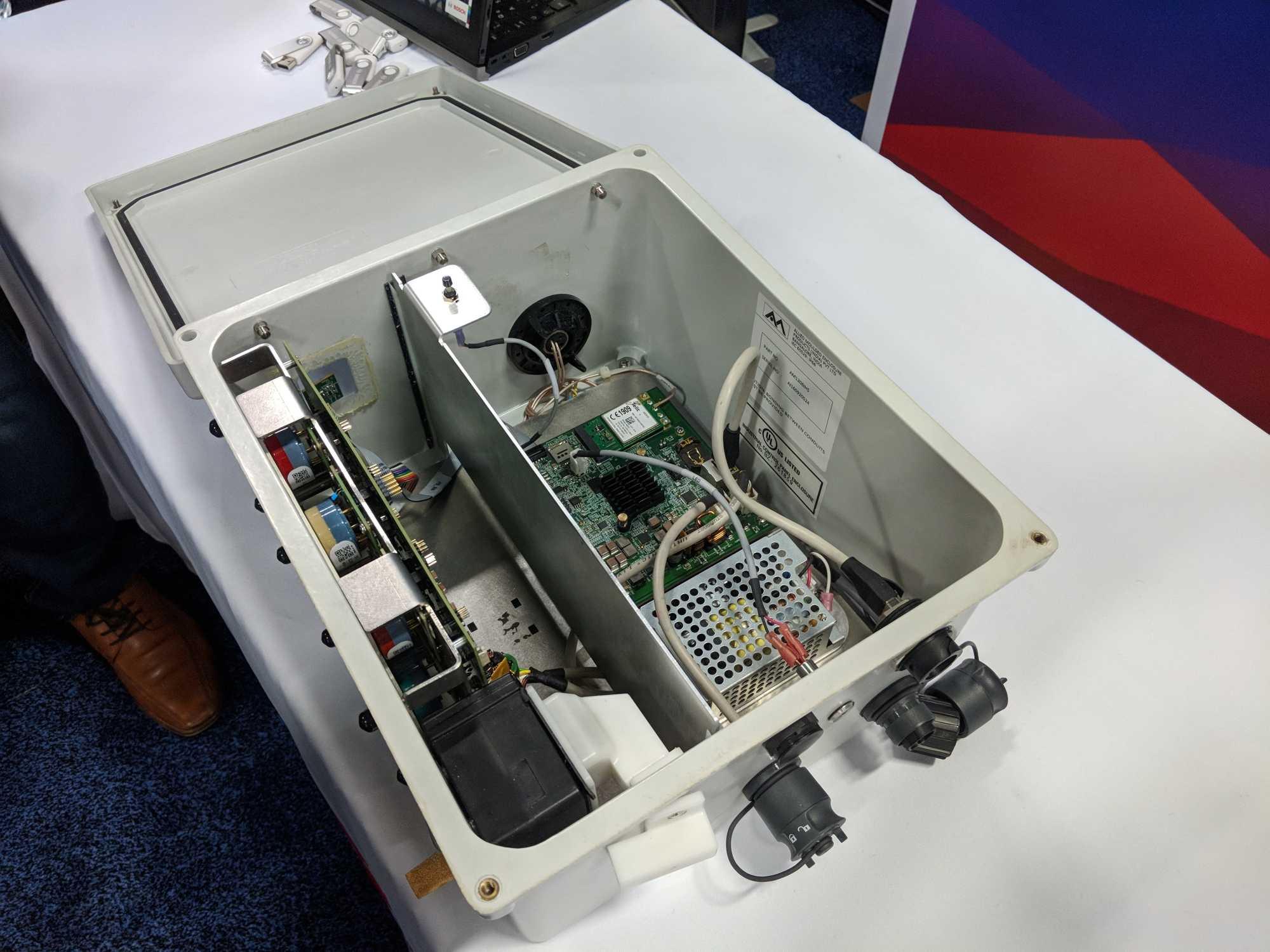 Das kompakte Gehäuse des Climo bietet Platz, um weitere Sensoren nachzurüsten.