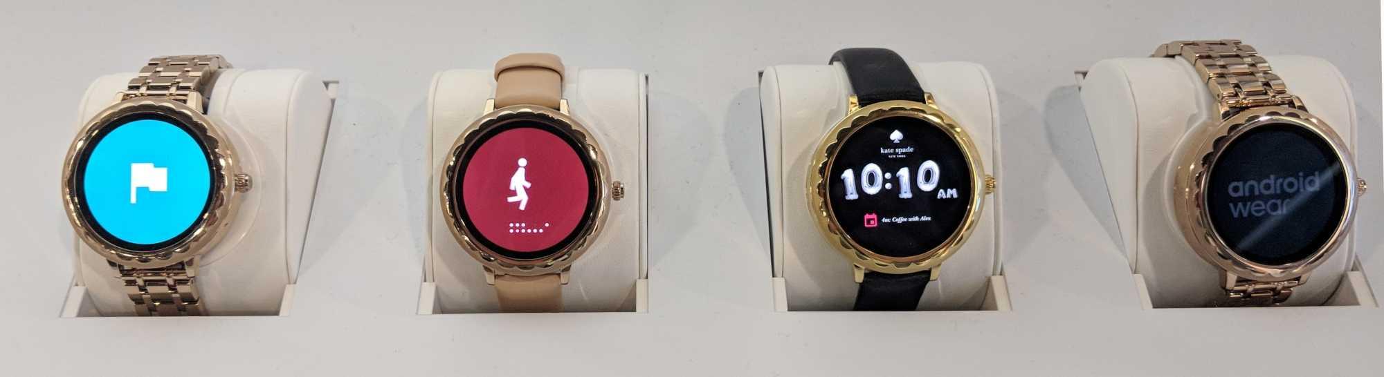 Die Uhren von Kate Spade haben ein 16-mm-Armband, sind wegen der verbauten Hardware aber nicht übermäßig schlank.