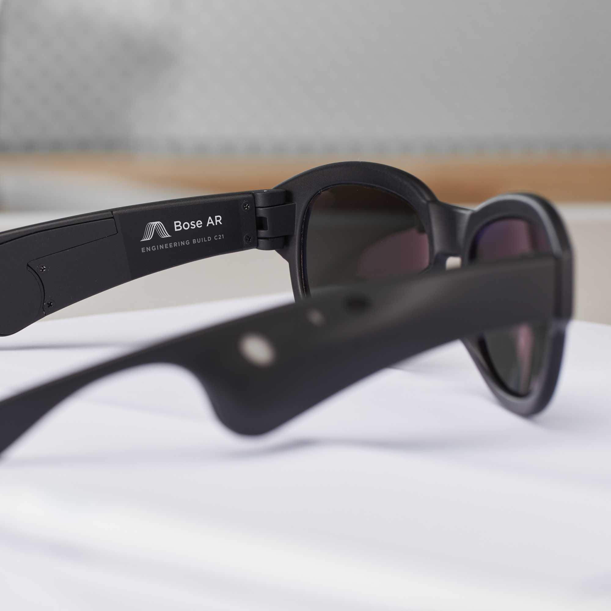 Boses Audio-Brillen-Prototyp wird im Sommer an ausgewählte Entwickler verschickt. Von einer Consumer-Variante ist keine Rede.