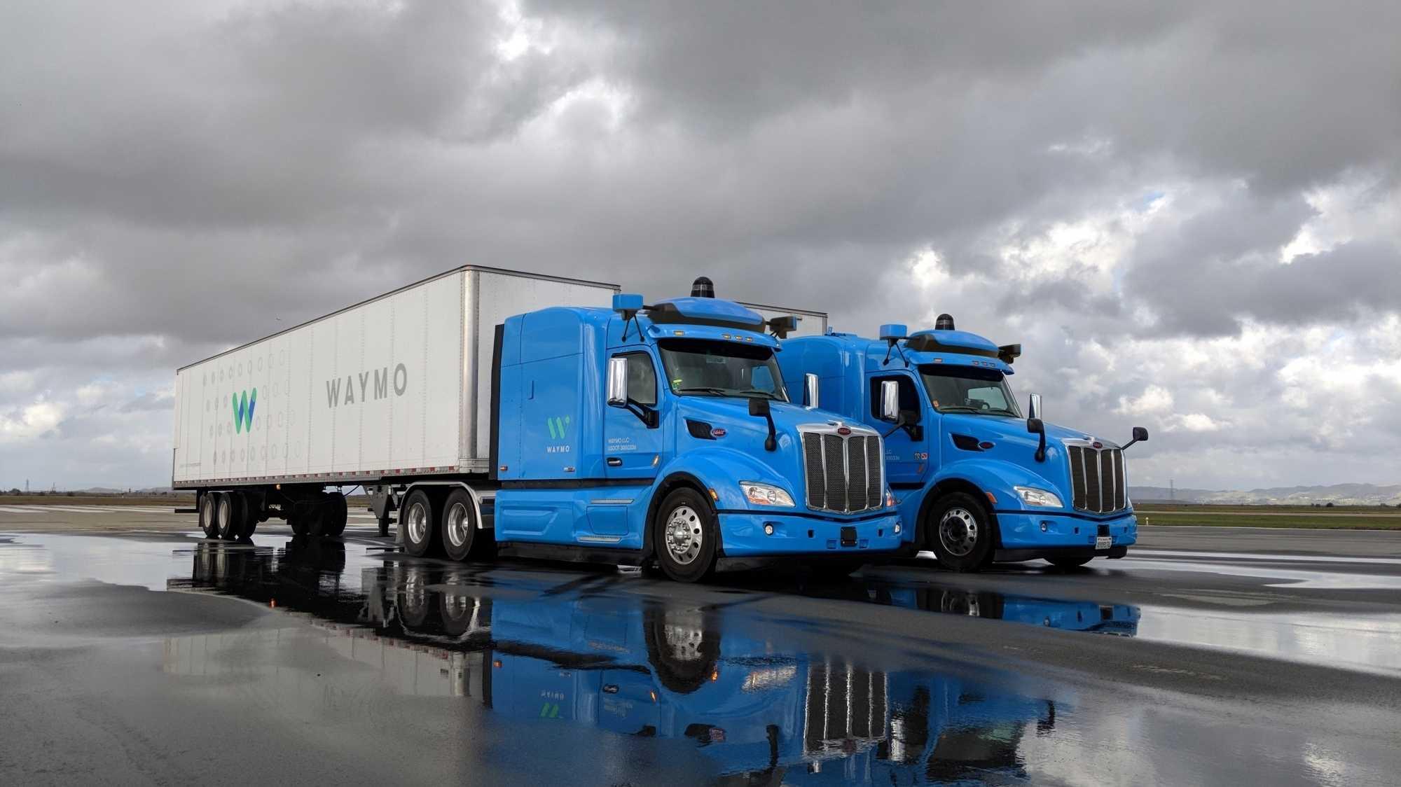 Autonomes Fahren: Waymo schickt selbstfahrenden Lkw auf Atlantas Straßen