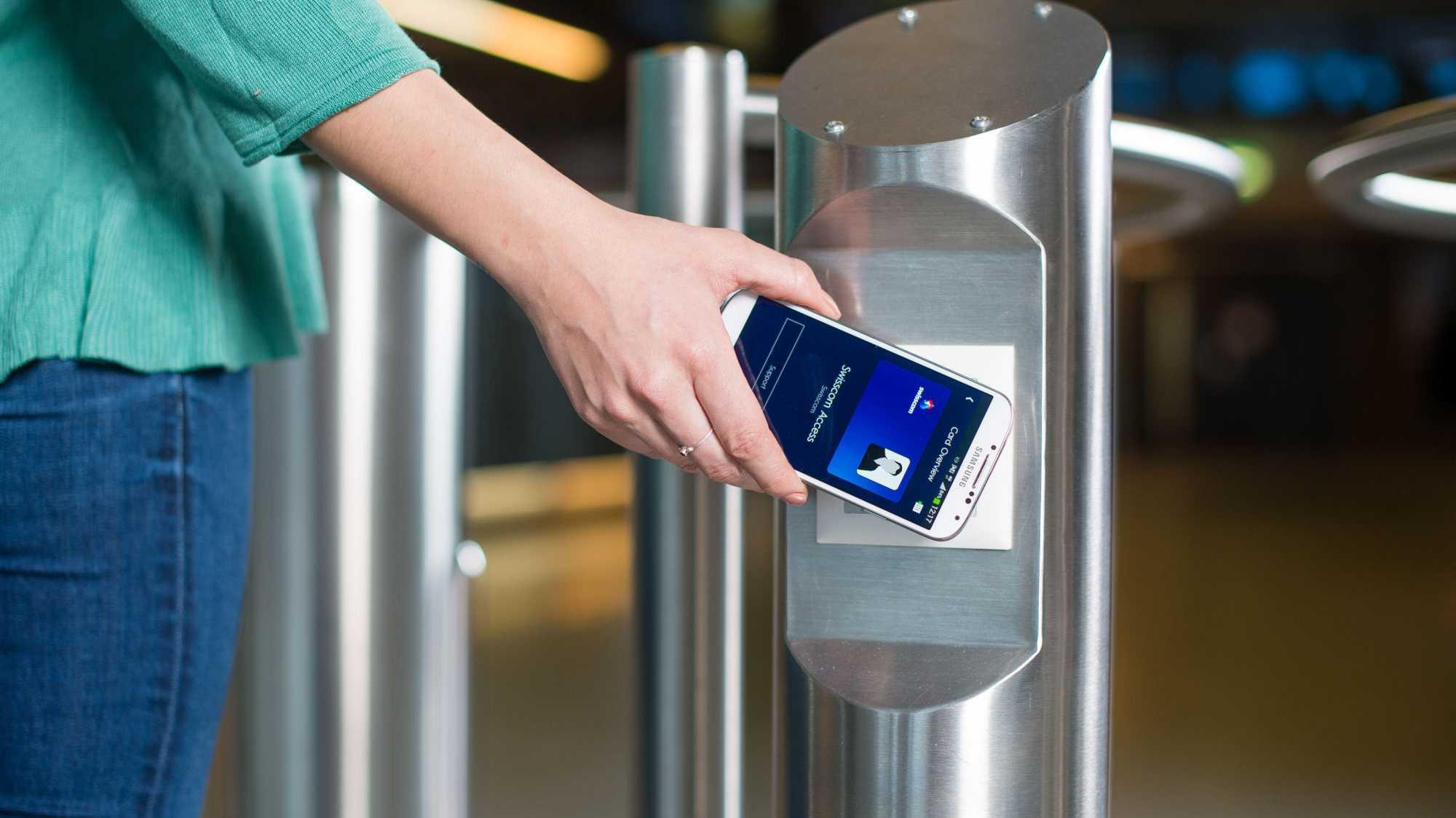 NFC-Bezahlsystem Tapit für die Eingangskontrolle