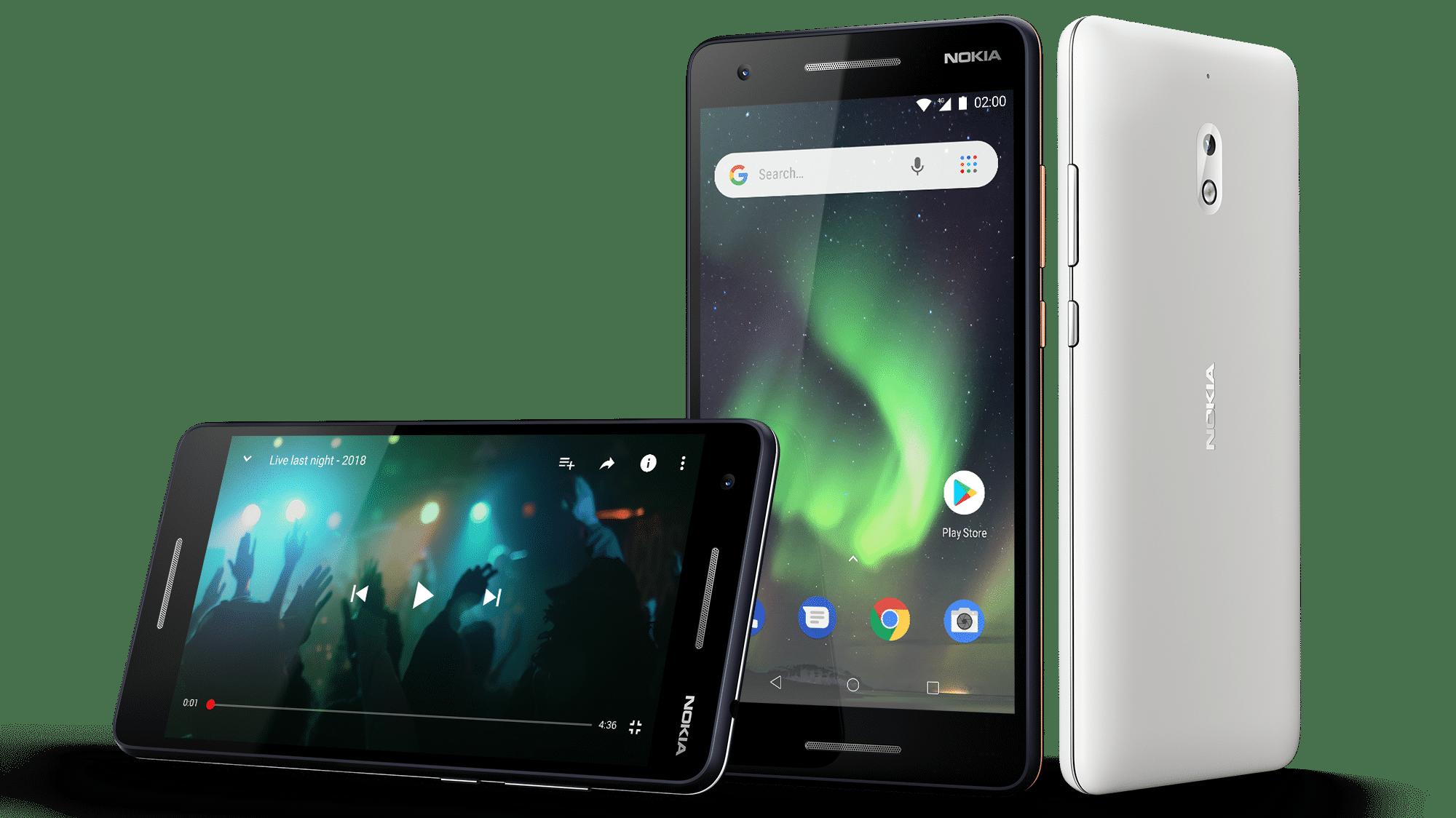 Nokia 2.1, 3.1 und 5.1: Günstige Smartphones mit Android One und Go