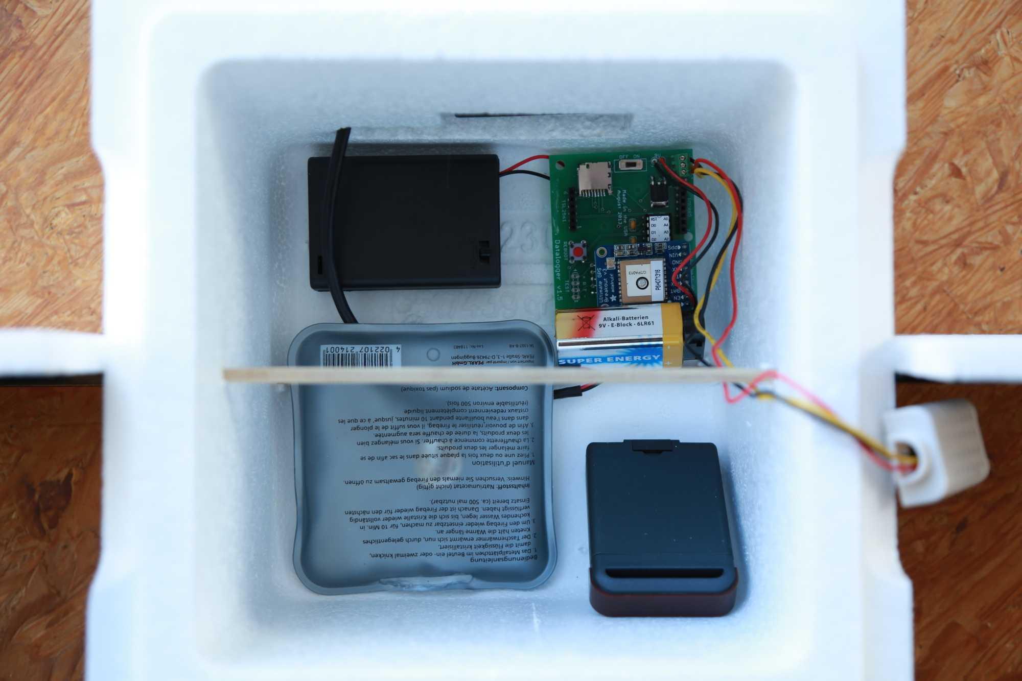 Maker Faire 2018: Sensorboard in Stratosphärenflug