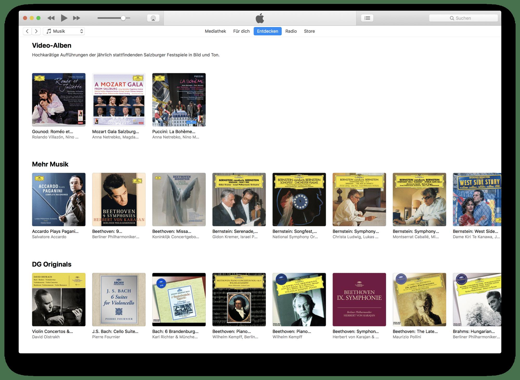 Das Deutsche-Grammophon-Forum auf Apple Music.