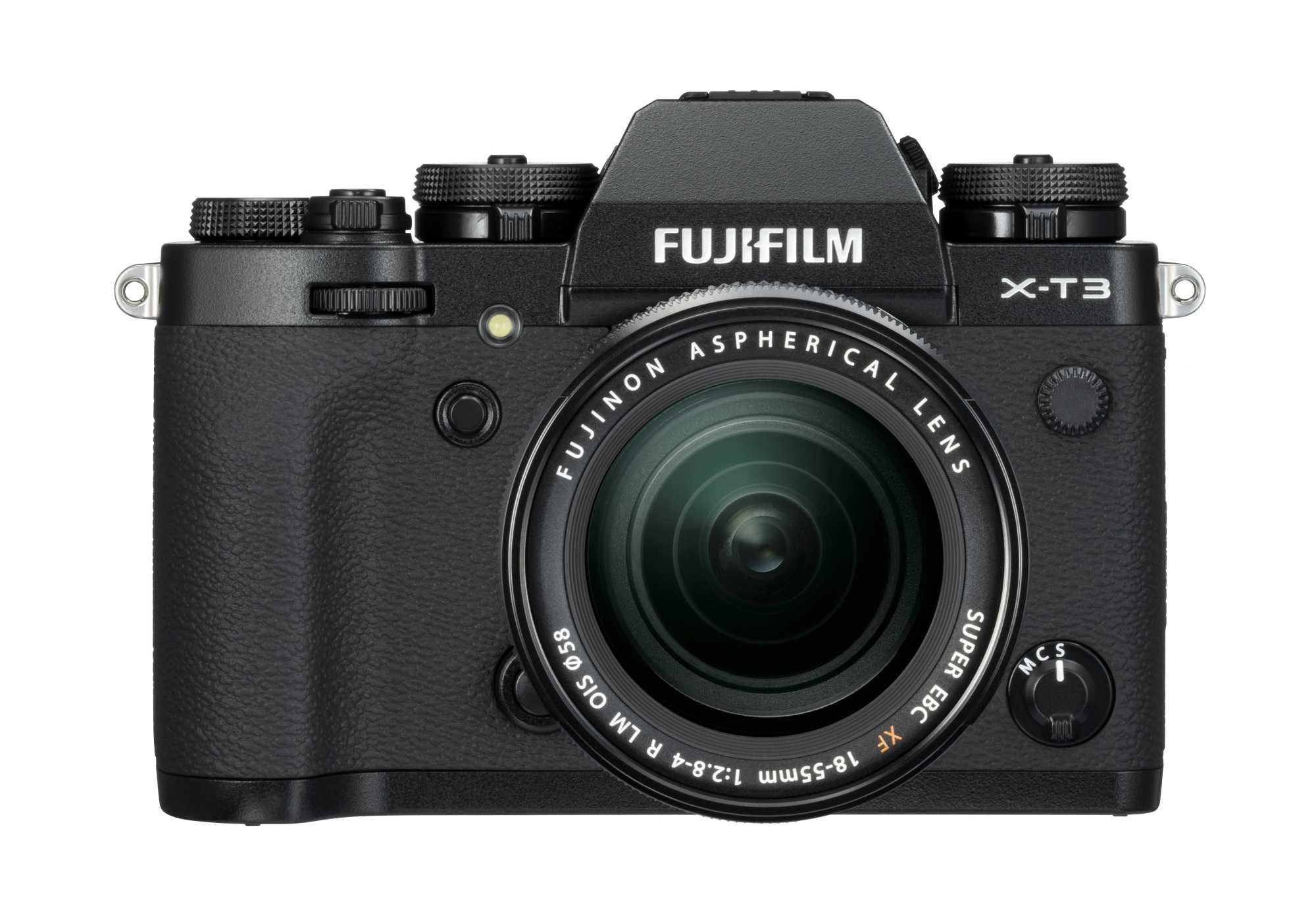 Die X-T3 gibt es in Schwarz und Silber. Sie richtet sich an ambitionierte Fotografen.