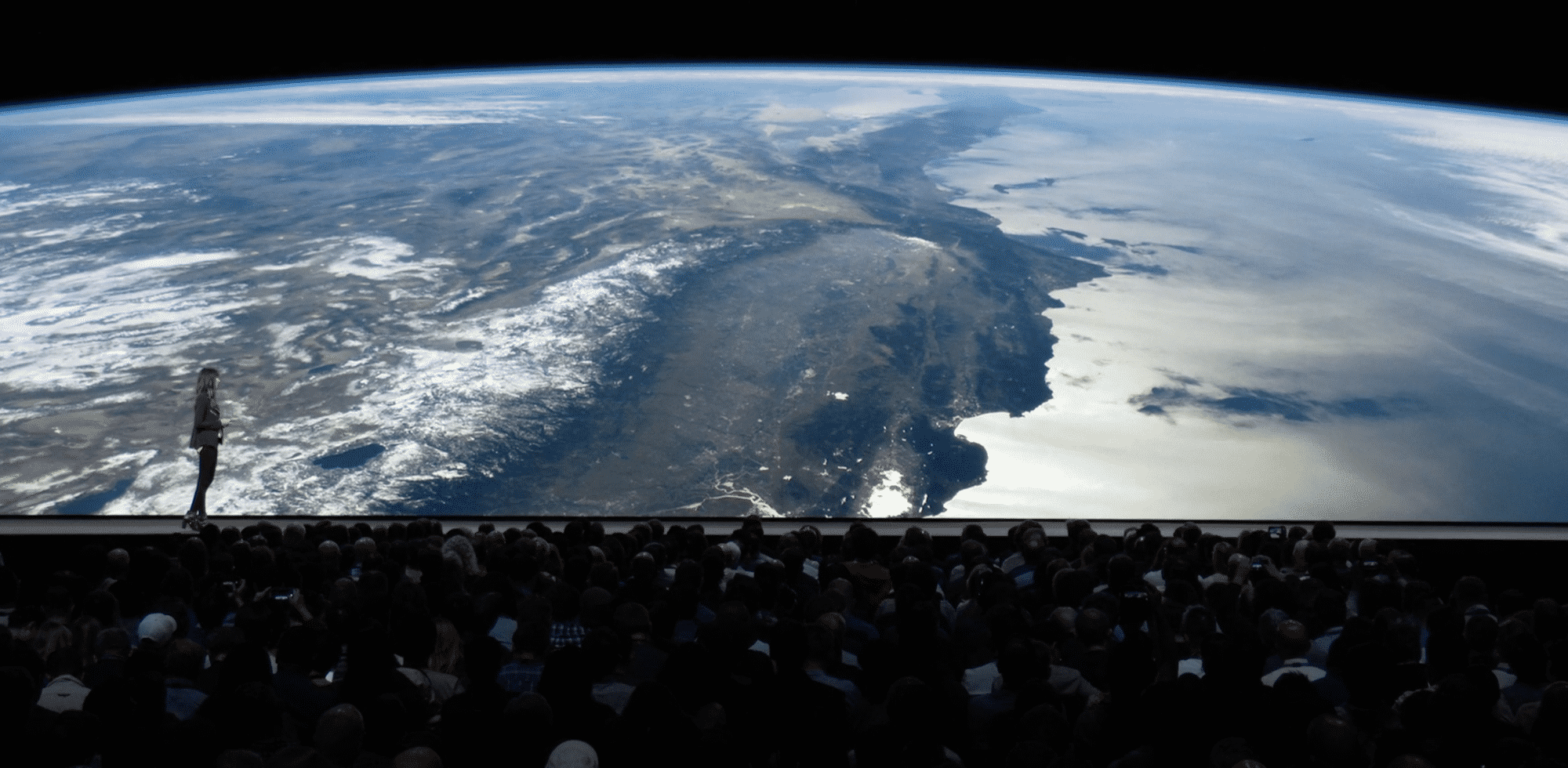 Ein neuer Bildschirmschoner zeigt Aufnahmen der Erde –von der Raumstation ISS aus.