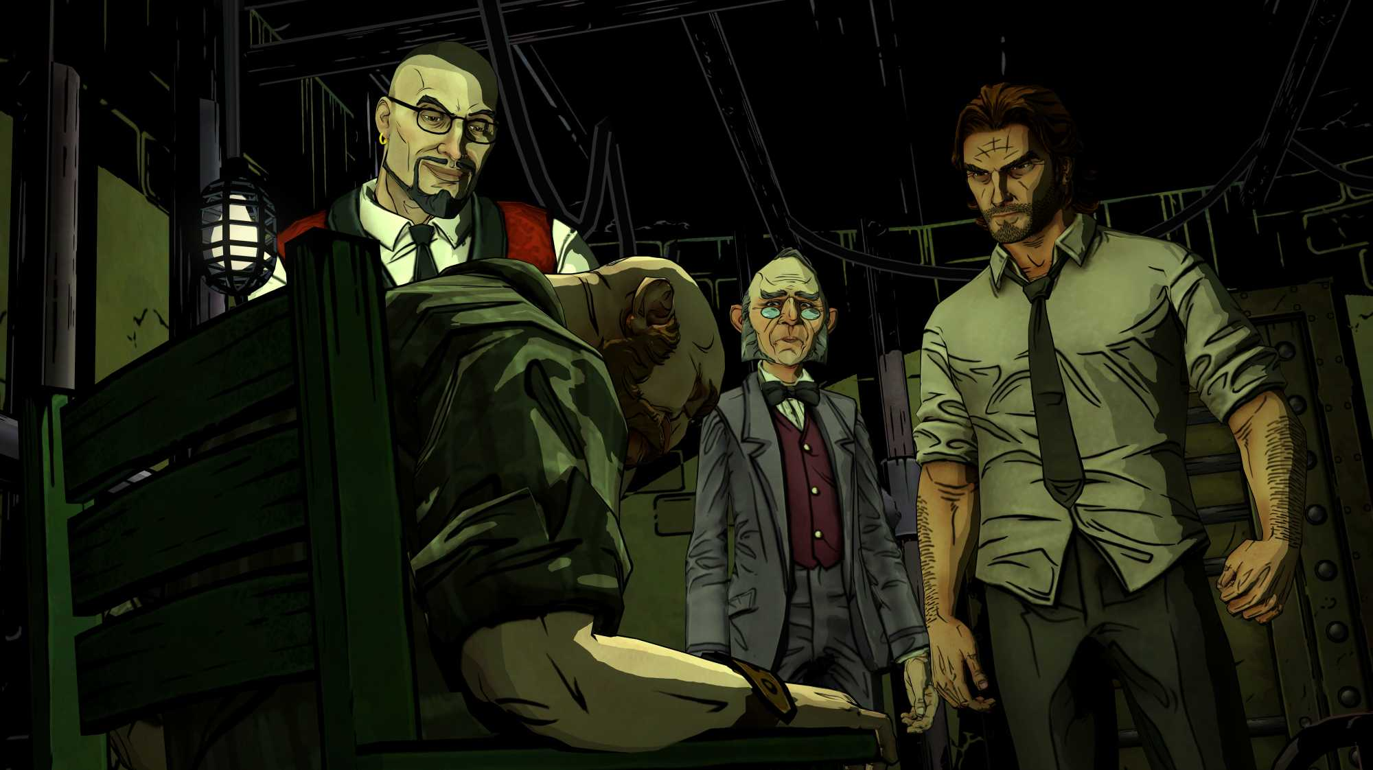 "Aus für Titel wie das Point-and-Klick-Adventure ""The Wolf Among Us"""