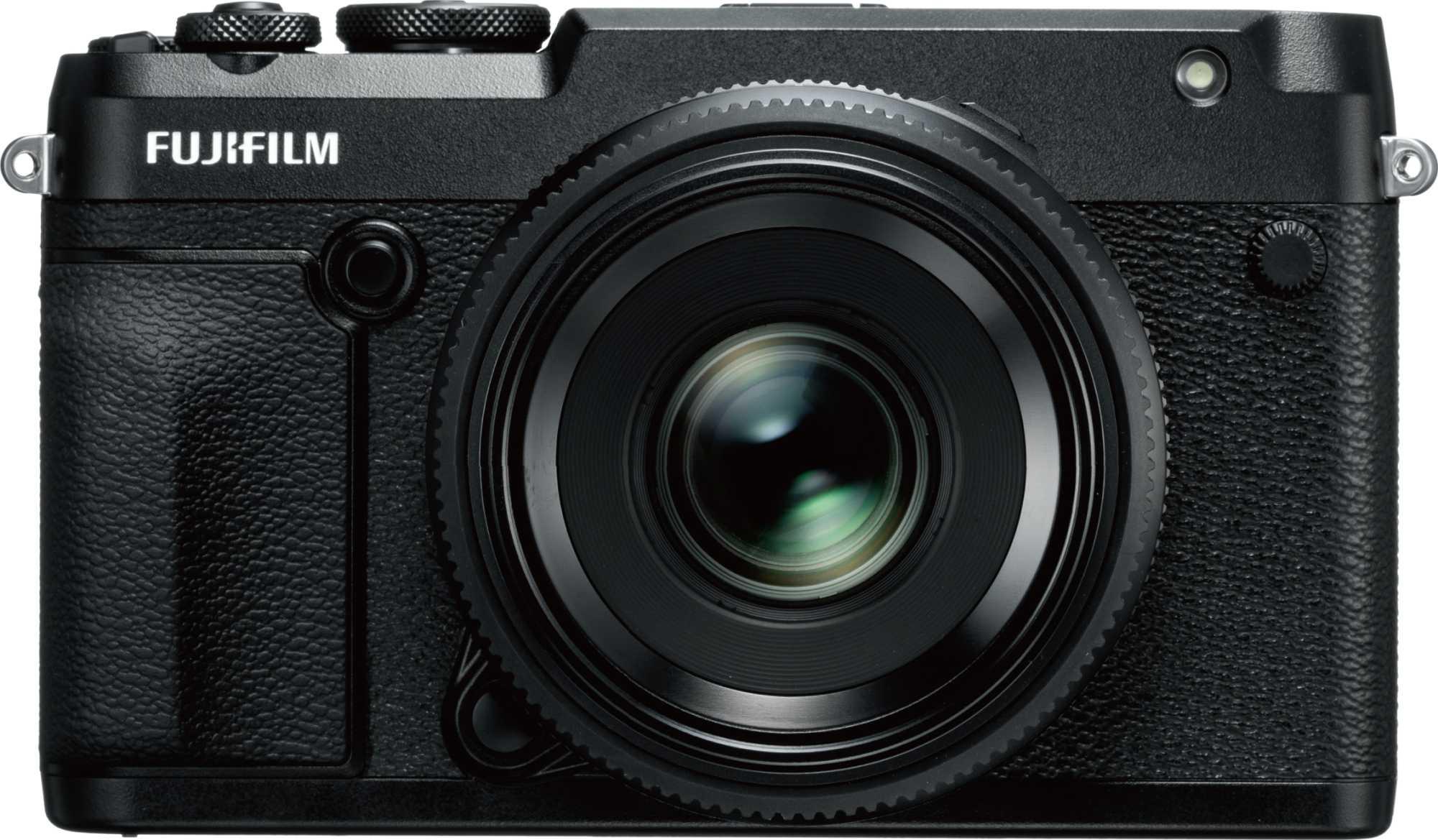 Fujifilm überspringt mit seinen spiegellosen Systemkameras der GFX-Serie das Vollformat. Der Sensor der GFX 50R misst 43,8 × 32,9 Millimeter. Fujifilm selbst spricht von Supervollformat.