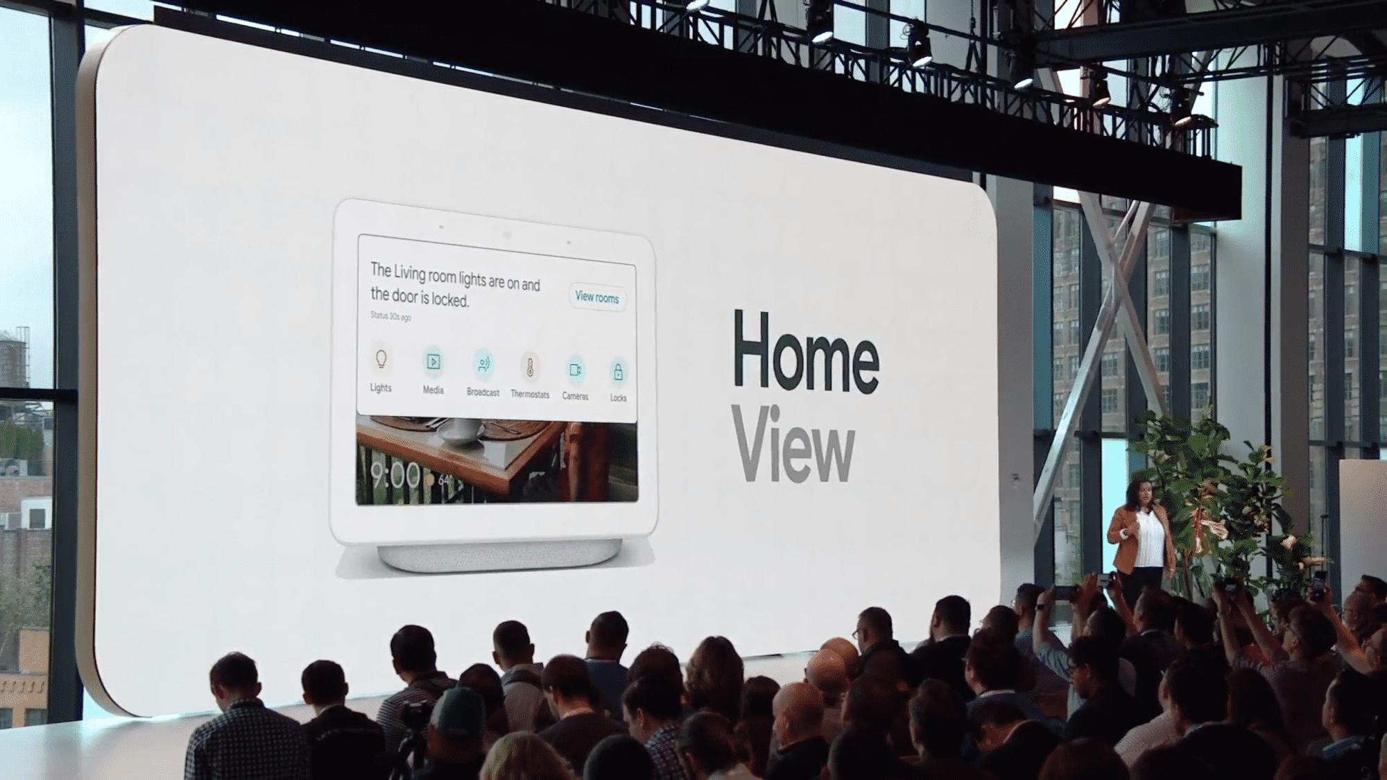 Googles Home Hub soll mit den Smart-Home-Geräten von über 1000 Herstellern zusammenarbeiten.