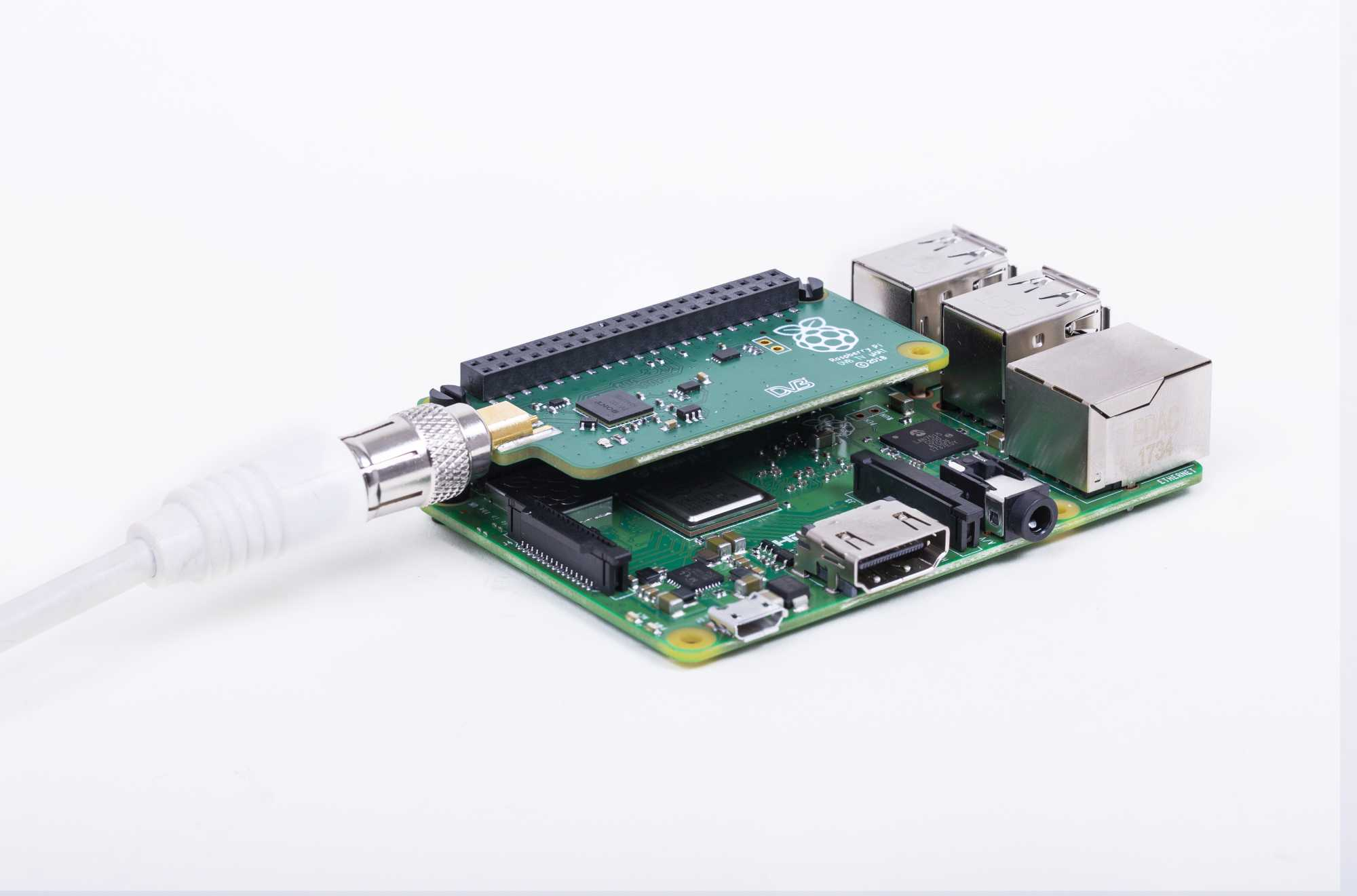 TV uHAT  auf Raspberry Pi 3 Model B+
