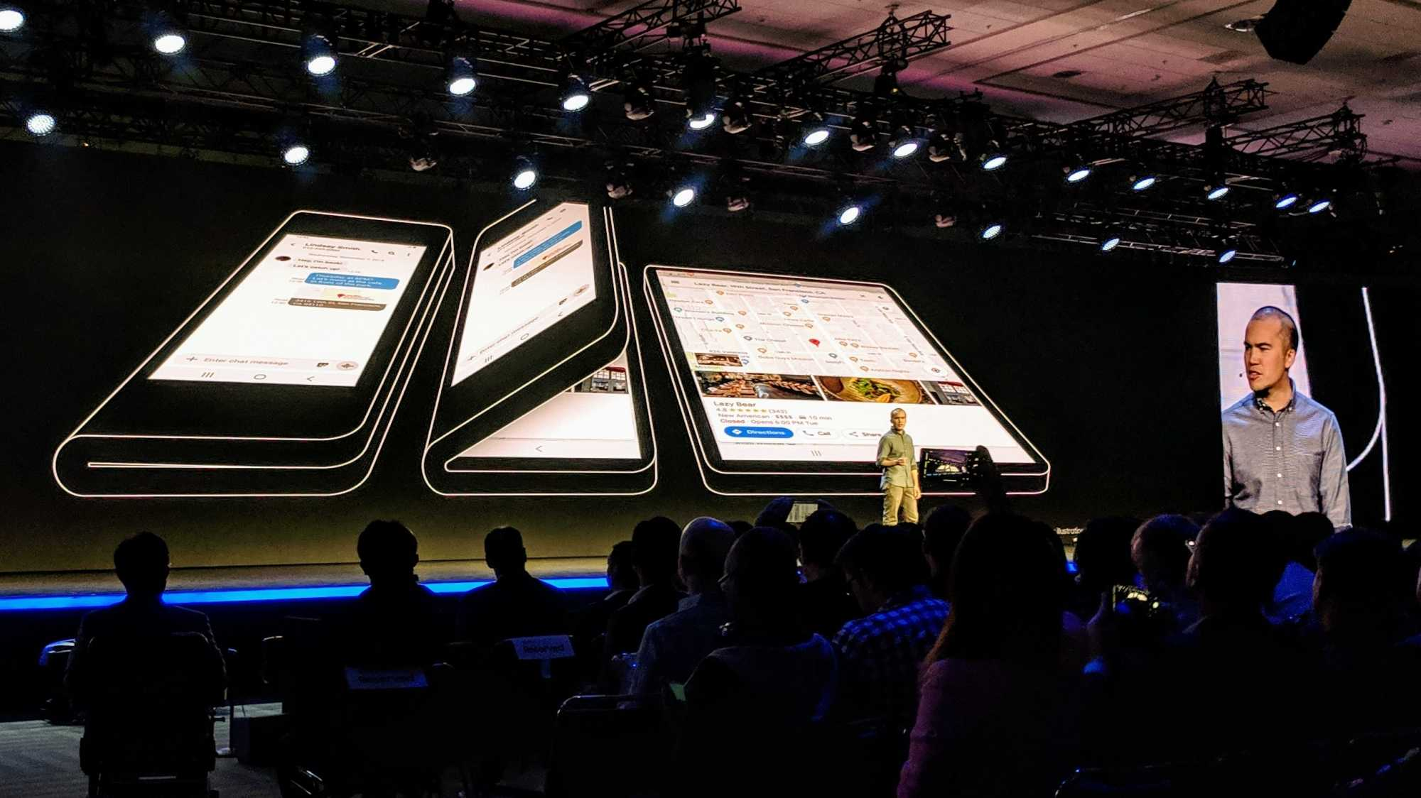 Glen Murphy, chief developer of the Android user interface, announced in San Francisco the support of the new