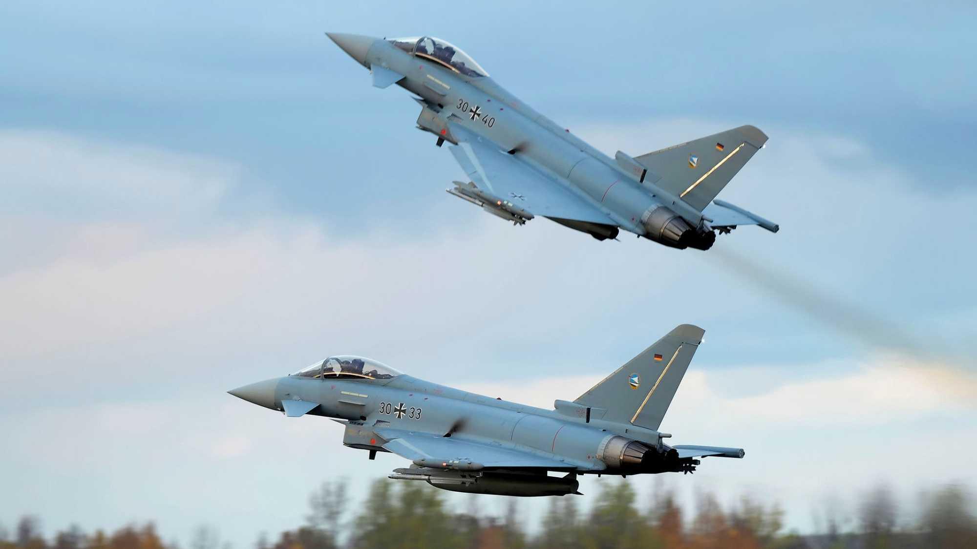 Eurofighter der Bundeswehr
