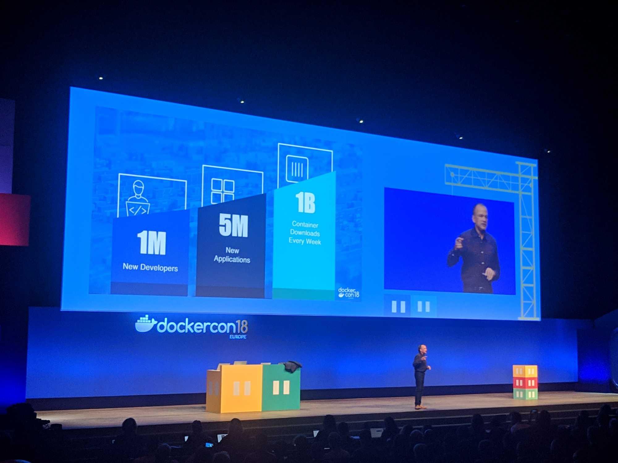 CEO Steve Singh spricht über die Verbreitung von Docker