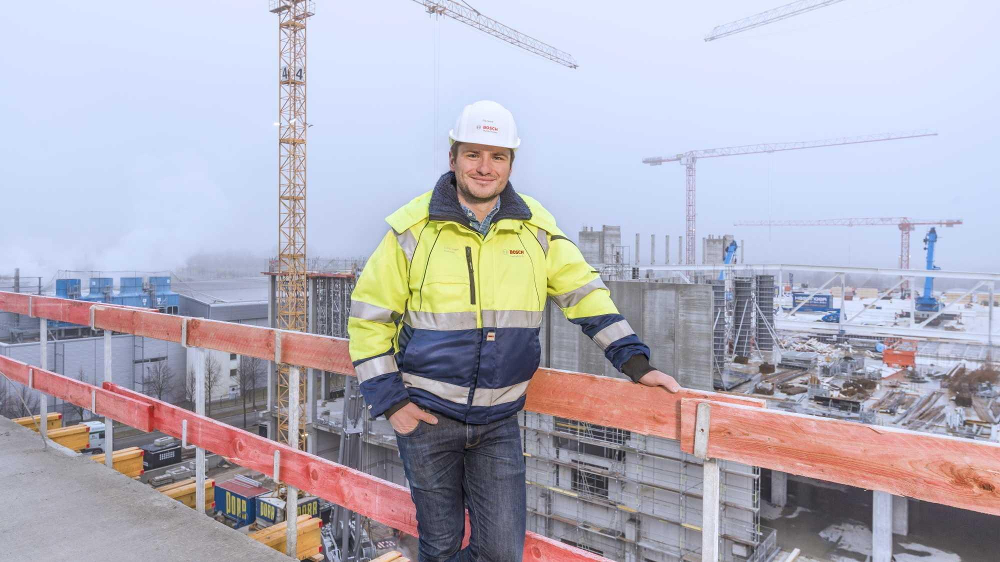 Bauleiter bei Bosch: Eine Milliarde Euro mit 30 Jahren