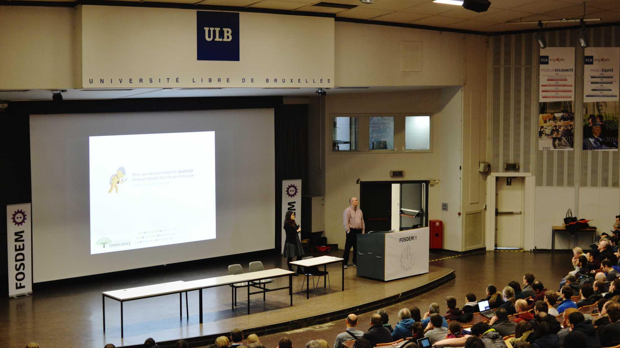 FOSDEM: Kann man ohne proprietäre Software leben?