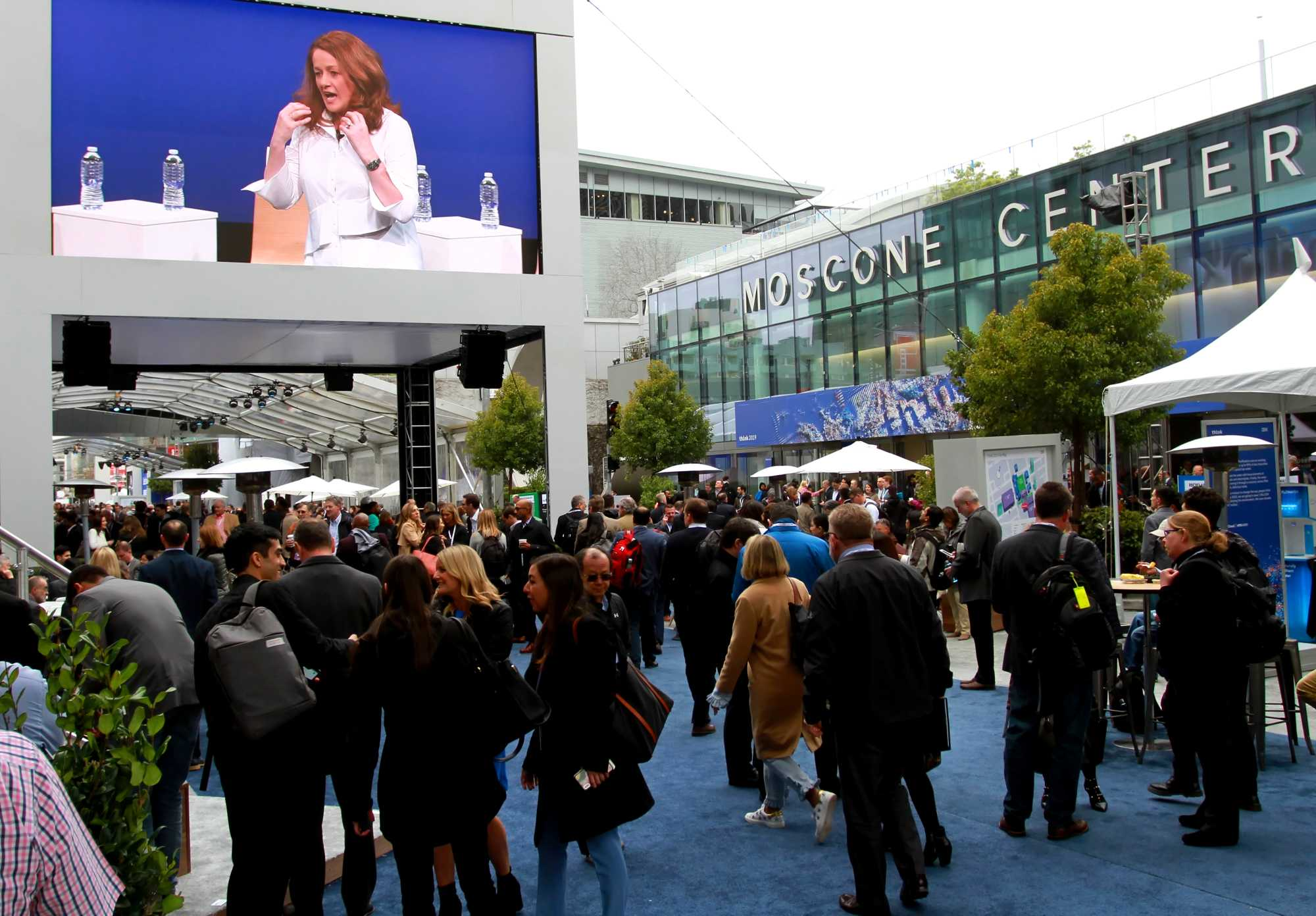 Die diesjährige Think findet im Moscone Center in San Francisco statt