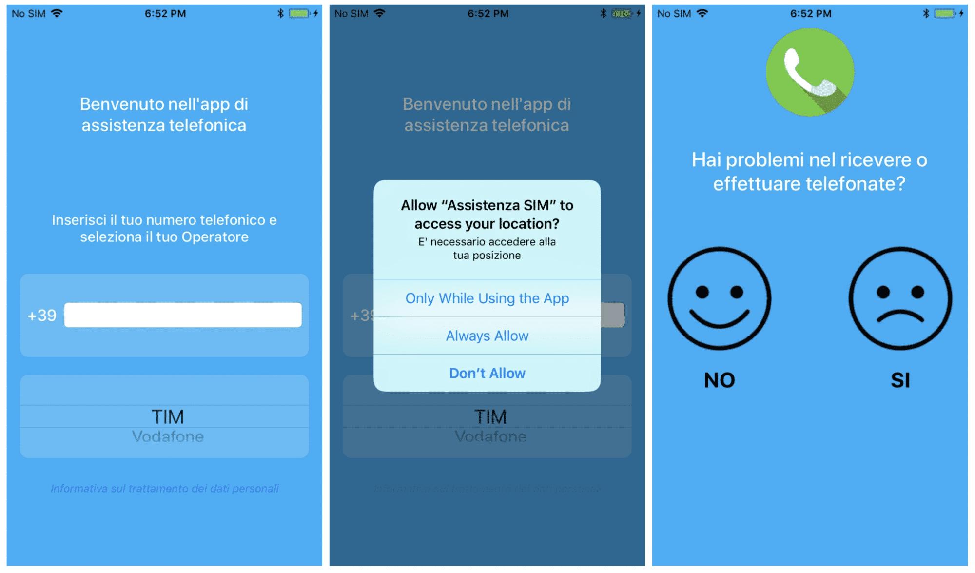 Die Fake-Support-App forderte Zugriffsberechtigungen.