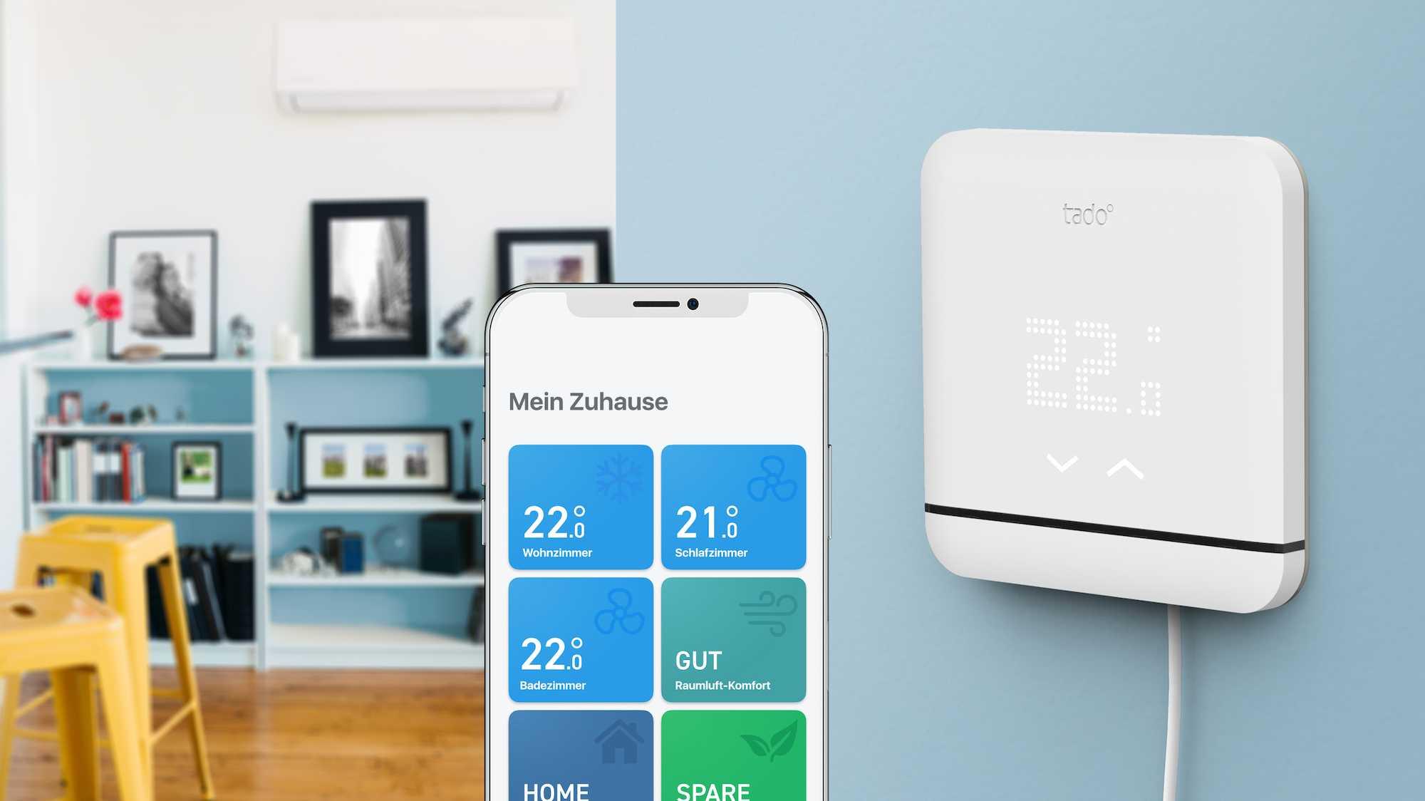 Tado vernetzt Klimaanlagen mit Apples HomeKit