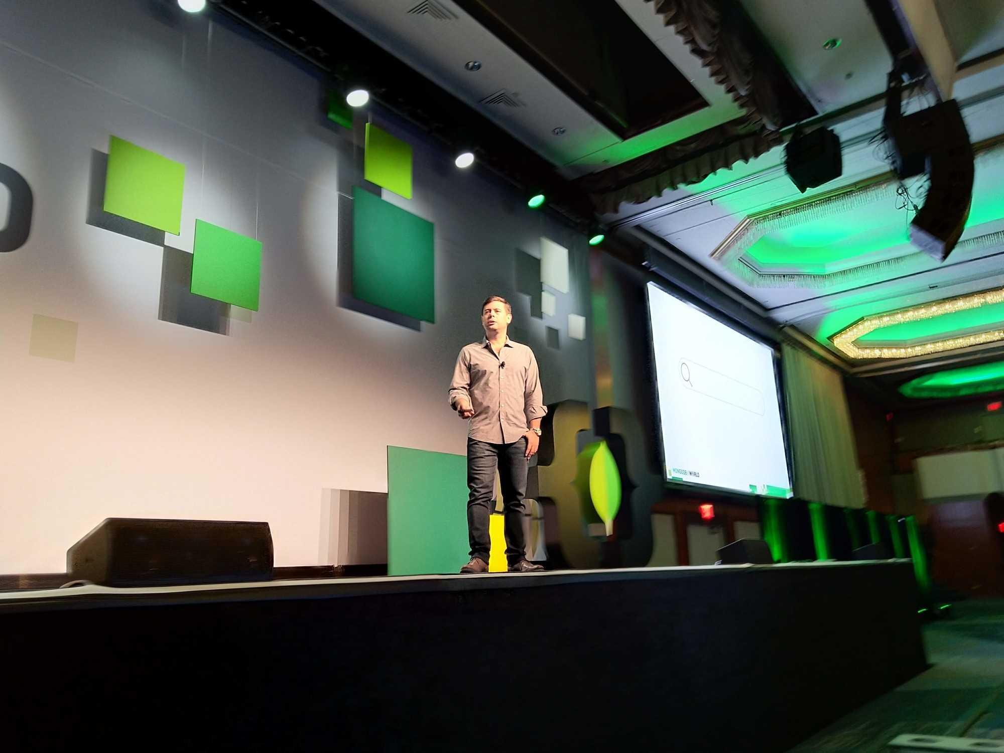 Den Hauptteil der Ankündigungen präsentierte den rund 2000 Besuchern CTO und MongoDB-Mitbegründer Eliot Horowitz.