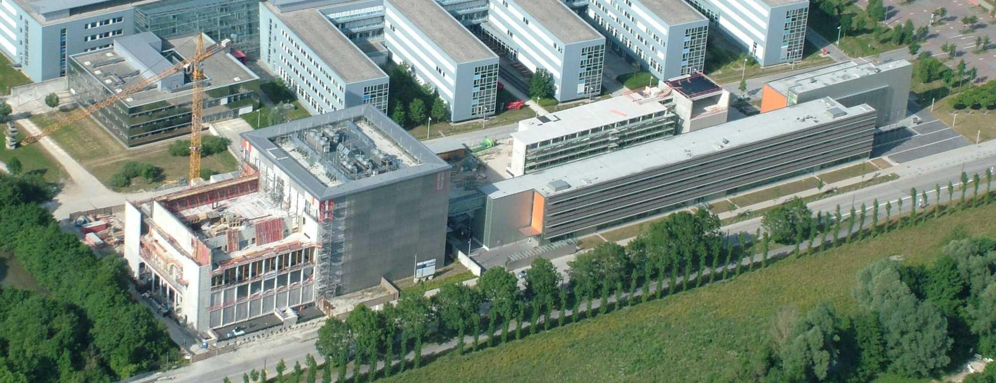 Luftbild LRZ-Ausbau