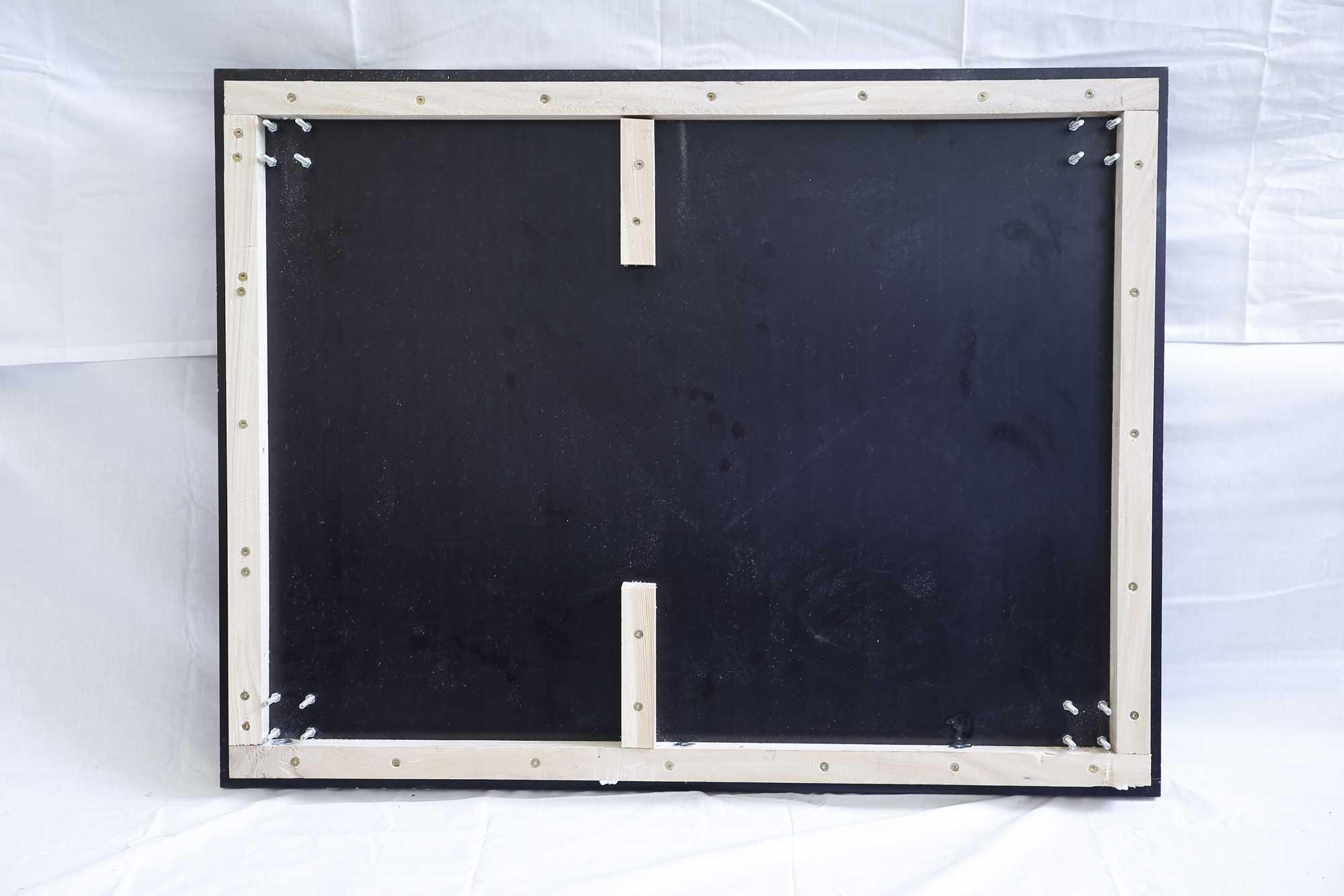 Bodenplatte mit Leisten