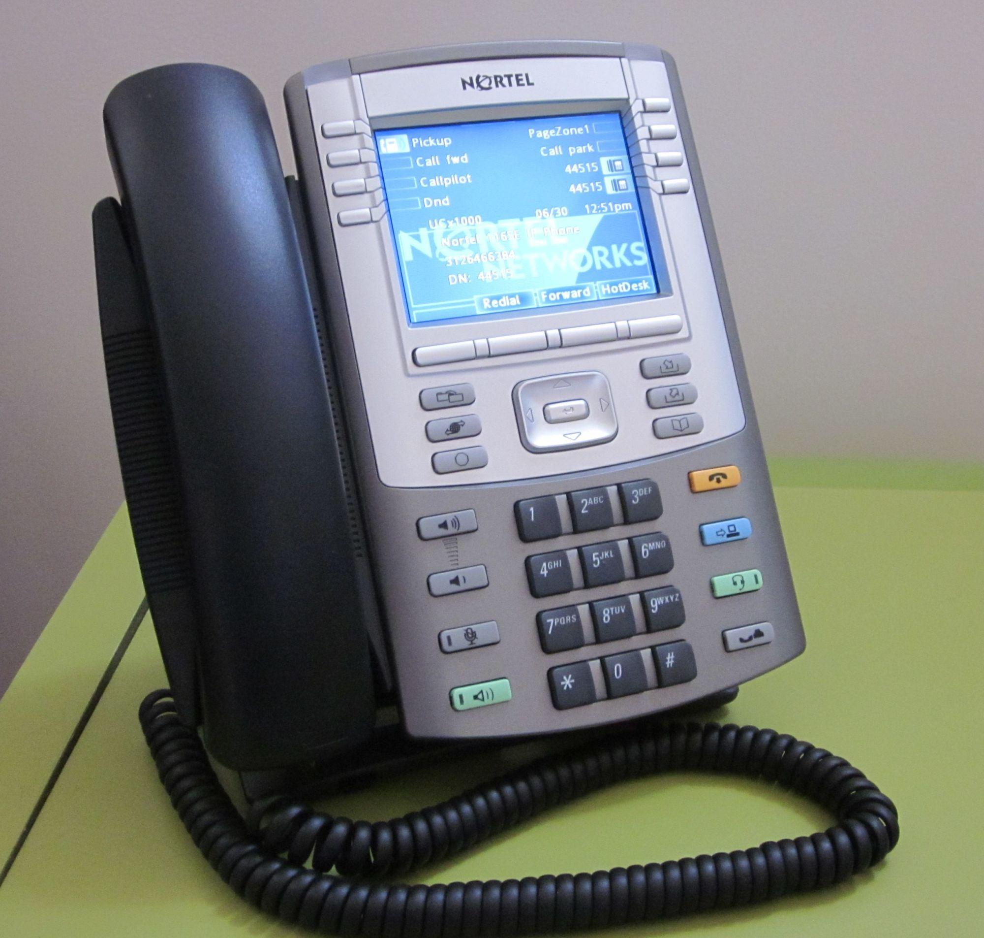 IP-Telefon Nortel 1165E