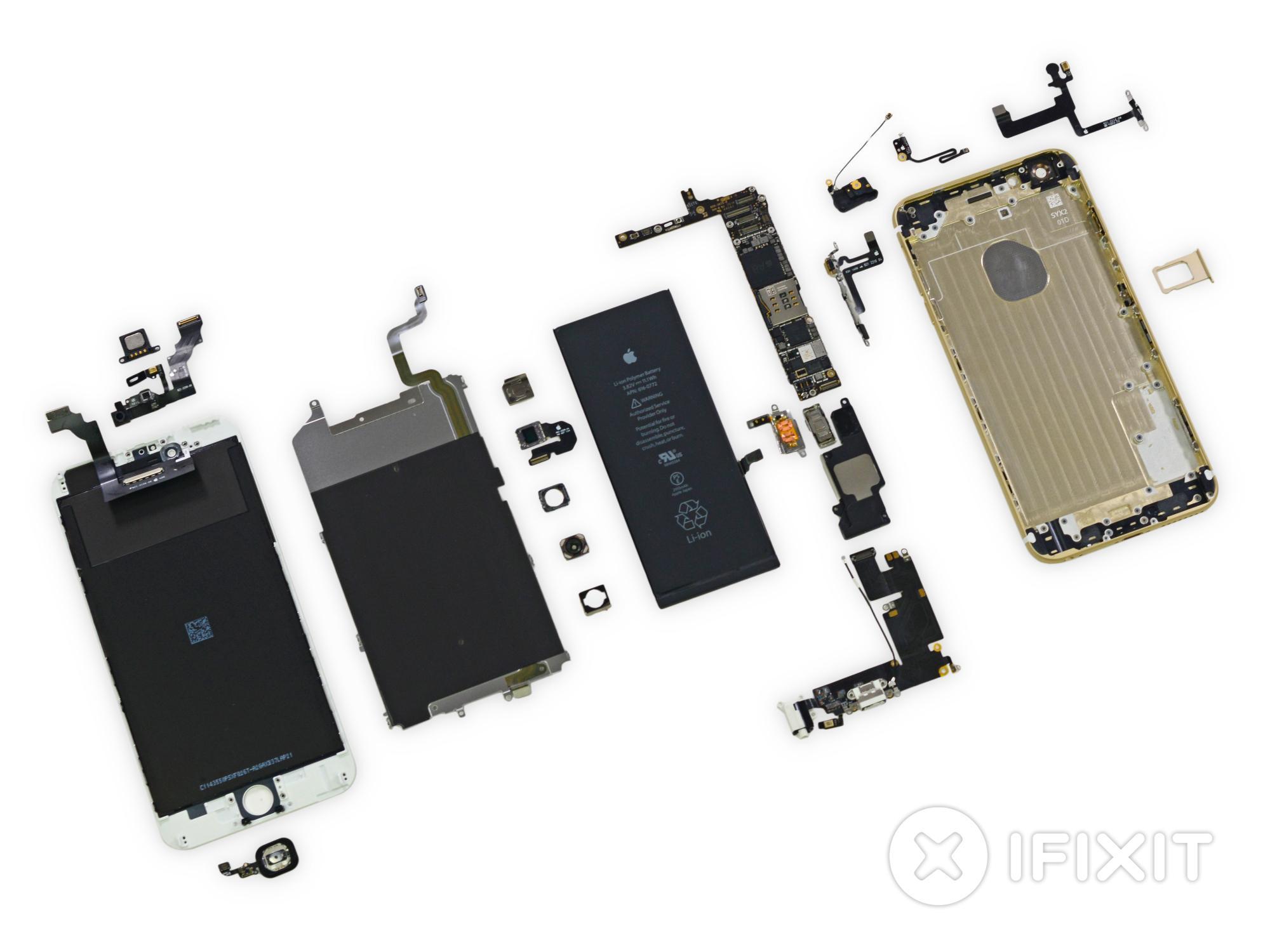 Blick ins Innere von iPhone 6 Plus und iPhone 6 | Mac & i
