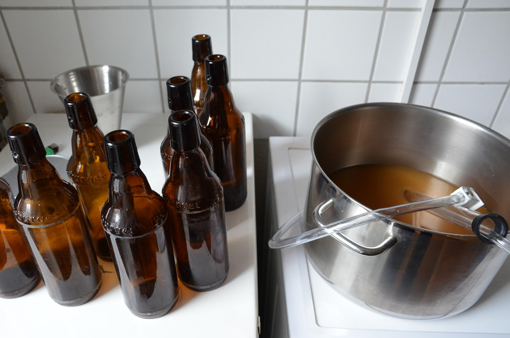 Genug gebastelt? Dann empfehlen wir ein kühles Bier, natürlich selbst gebraut.