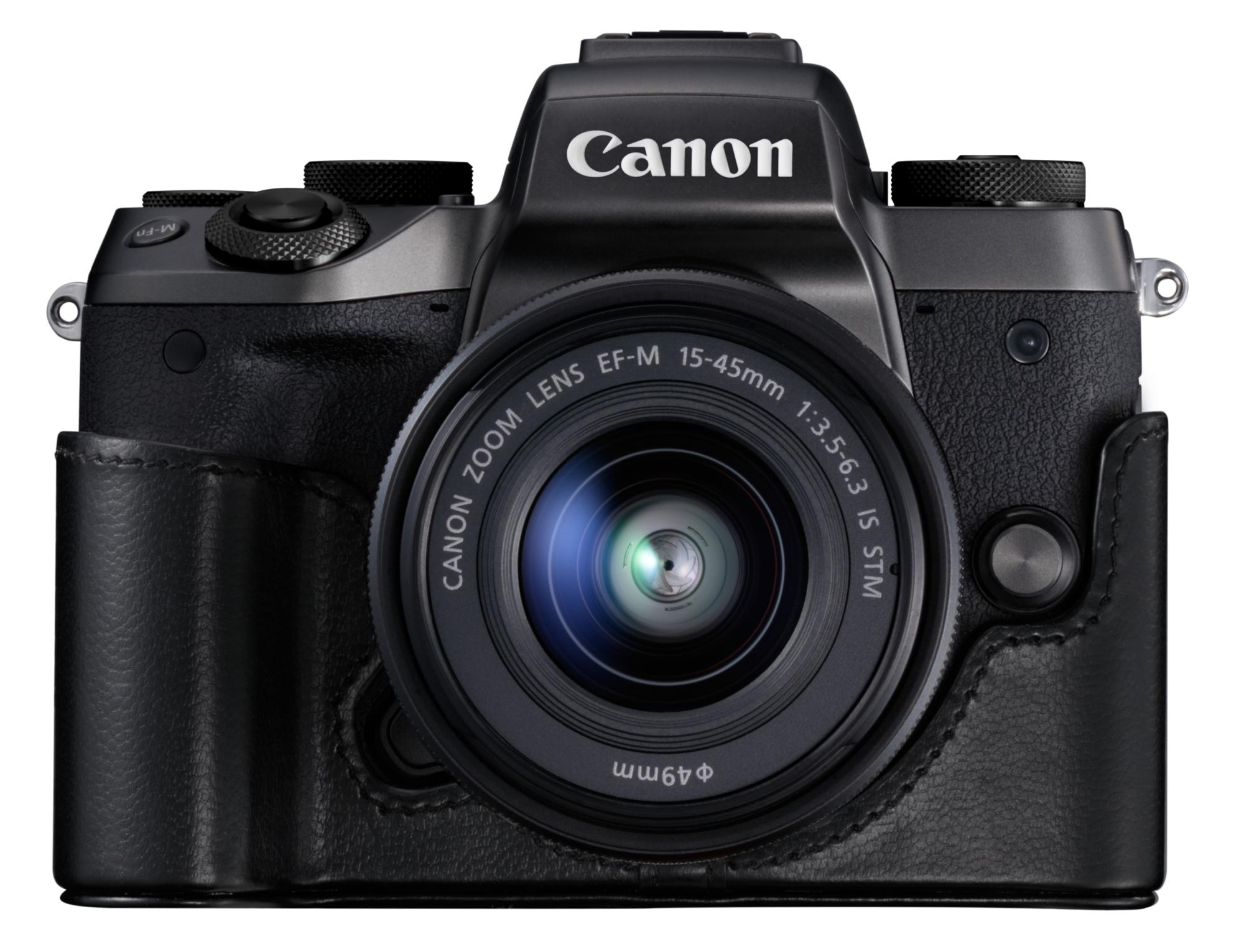 Canon EOS M5 mit Holster