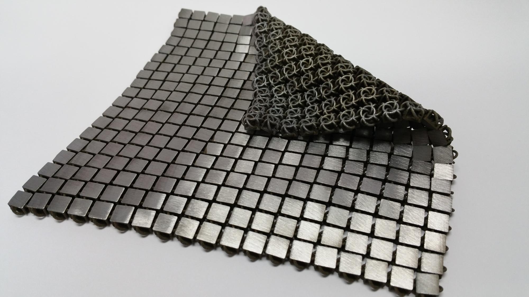 Flexibles Material als Metall