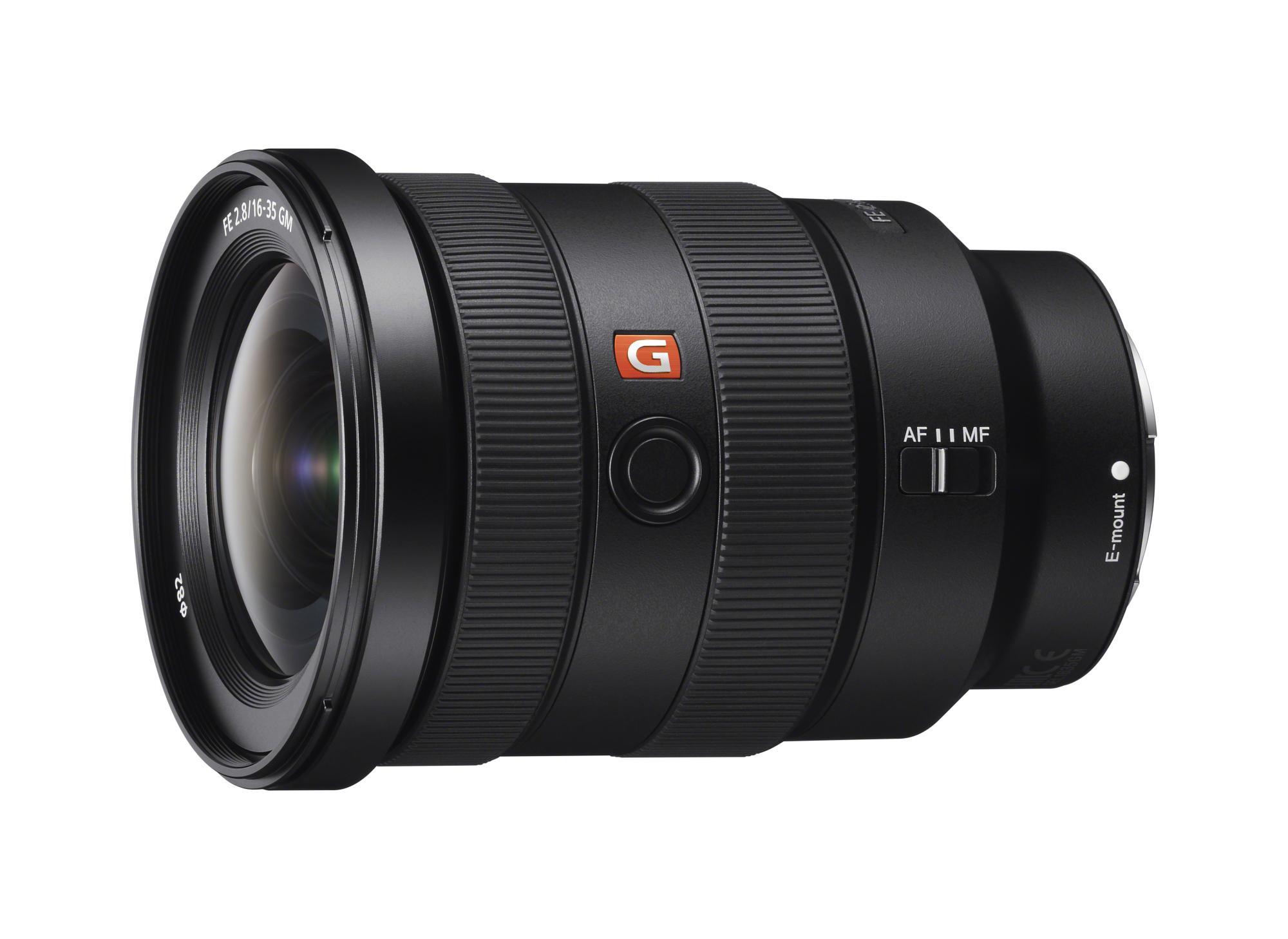 FE 16-35mm F2.8 GM ist das erste Weitwinkelobjektiv in Sonys G Master-Serie.