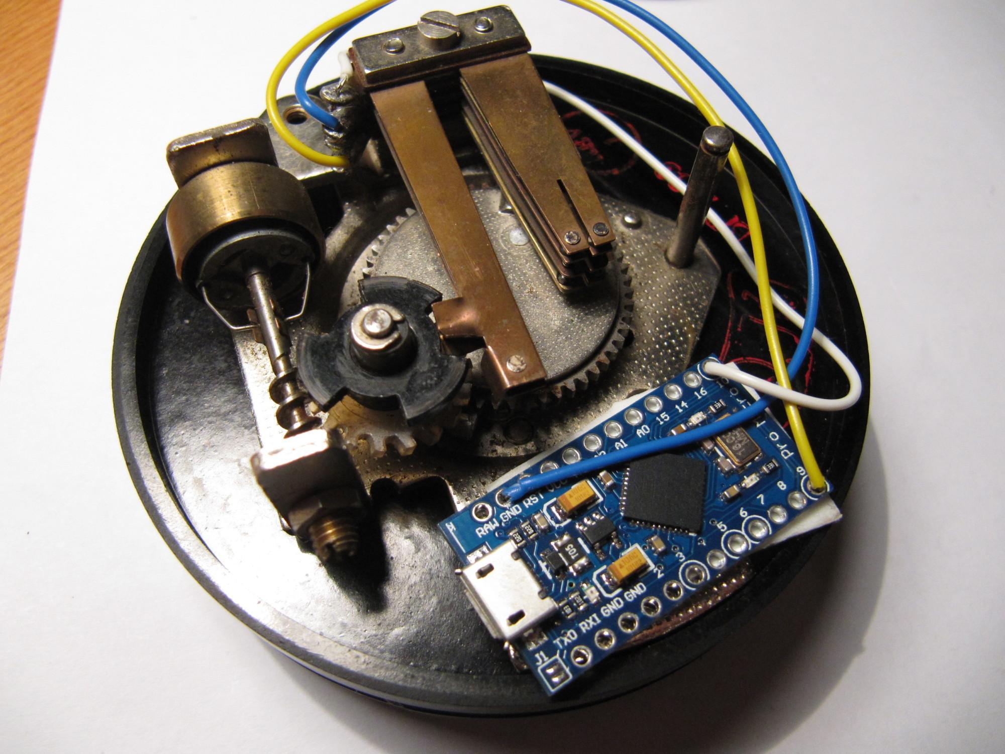 Wählscheibe Arduino