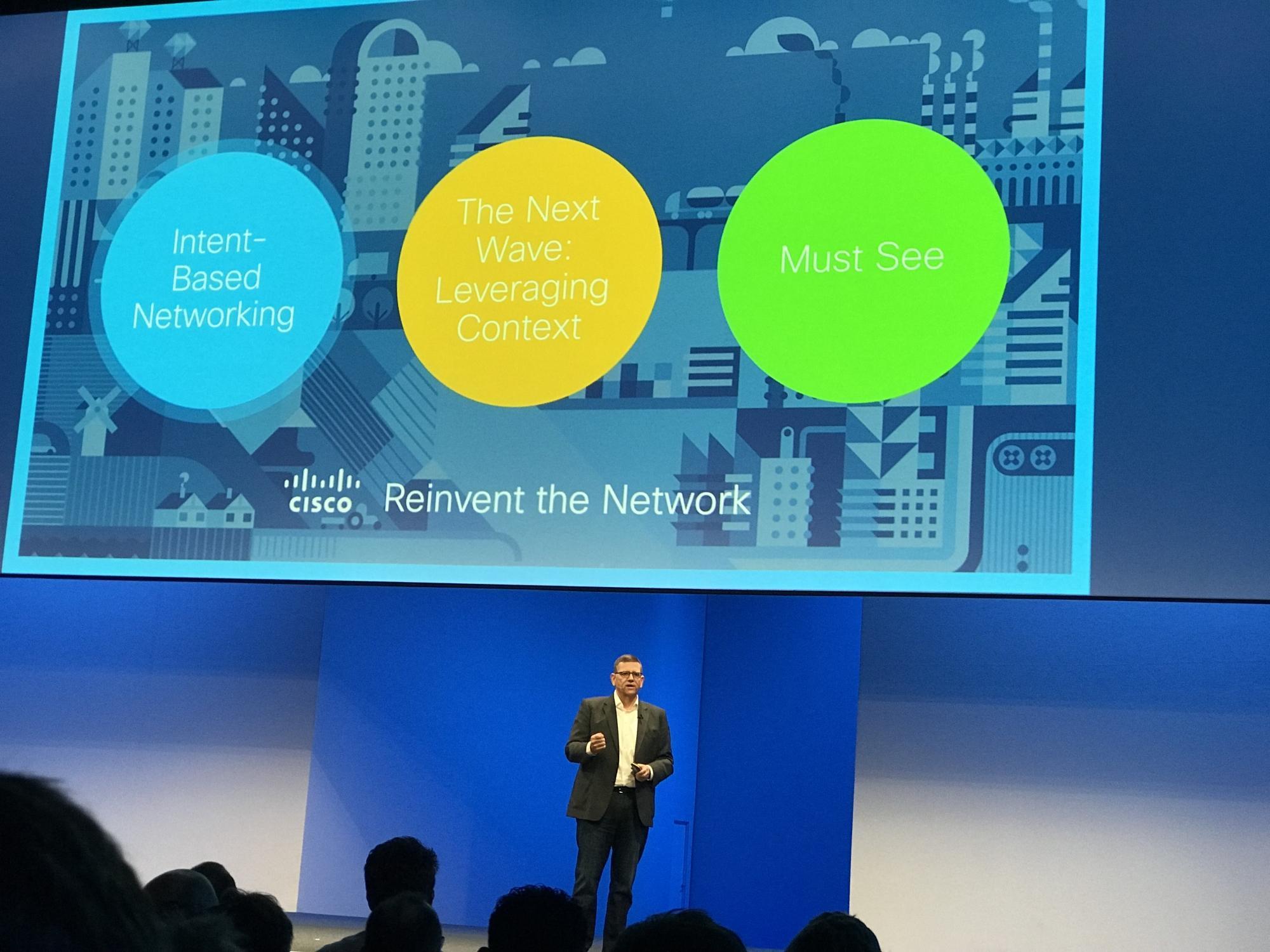Intent-Based NetworkingDas Netzwerk soll nicht mehr allein ein Transportmedium sein, sondern spezifischen Anforderungen in unterschiedlichen Kontexten genügen.
