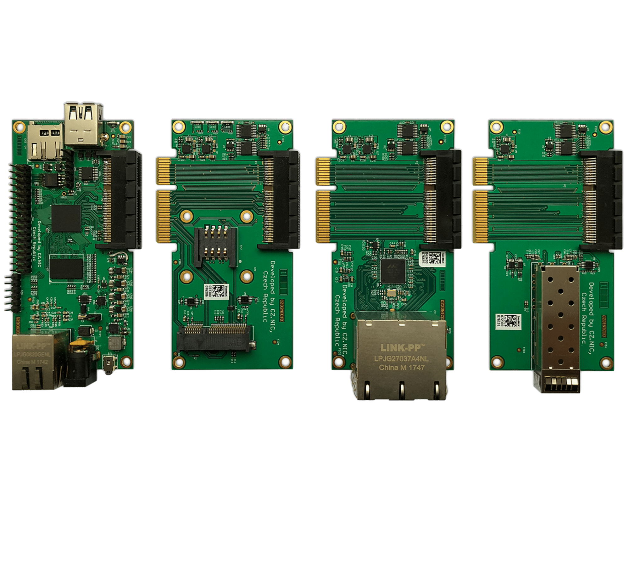 Mit den Mox-Modulen stimmt man den Router individuell ab