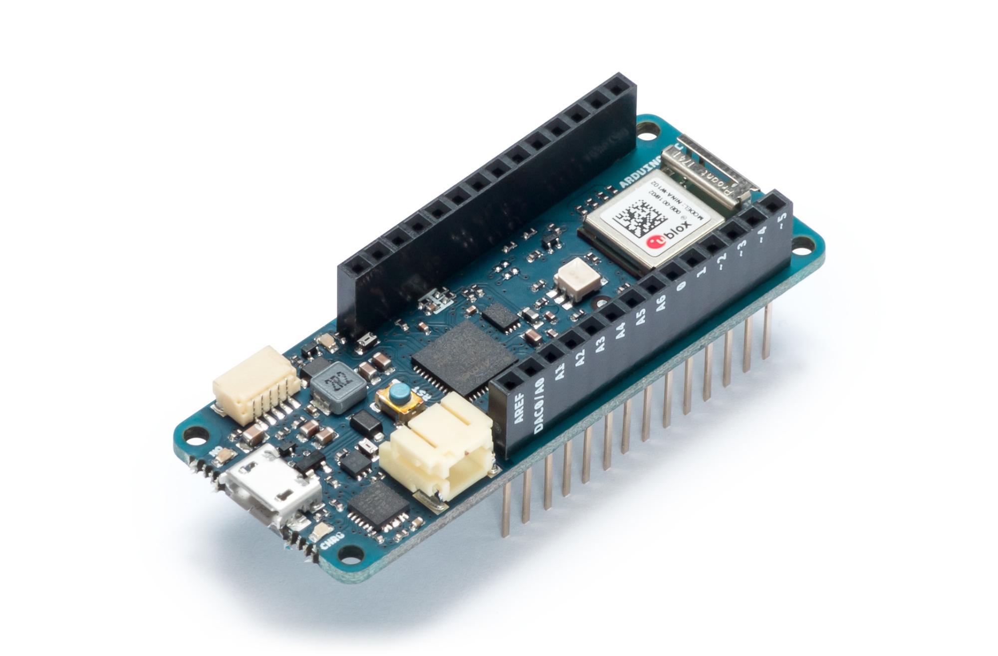 Arduino MKR Wifi 1010: schmales grünes Board