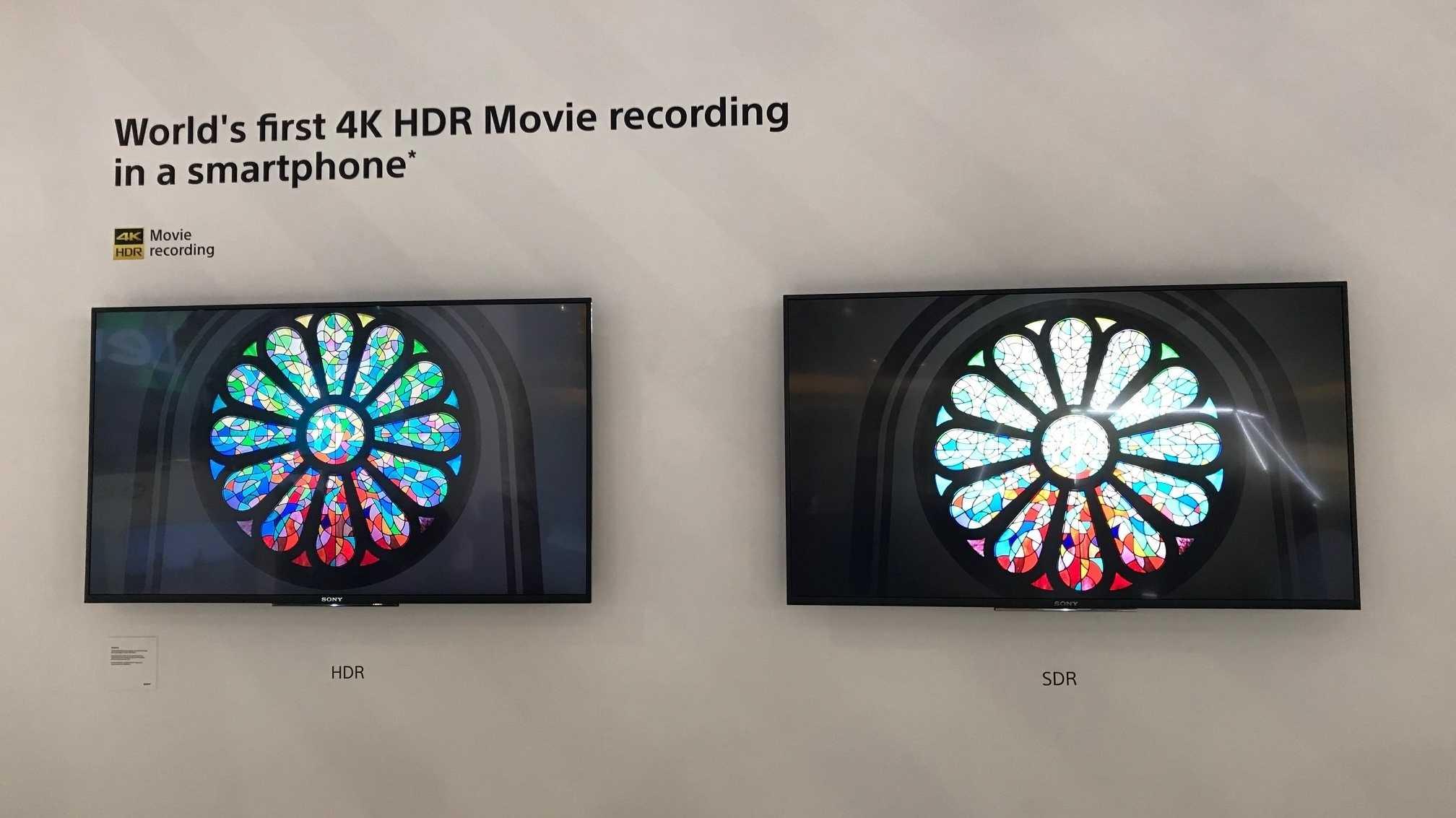 Xperia XZ2: So nimmt Sonys Highend-Smartphone in HDR auf