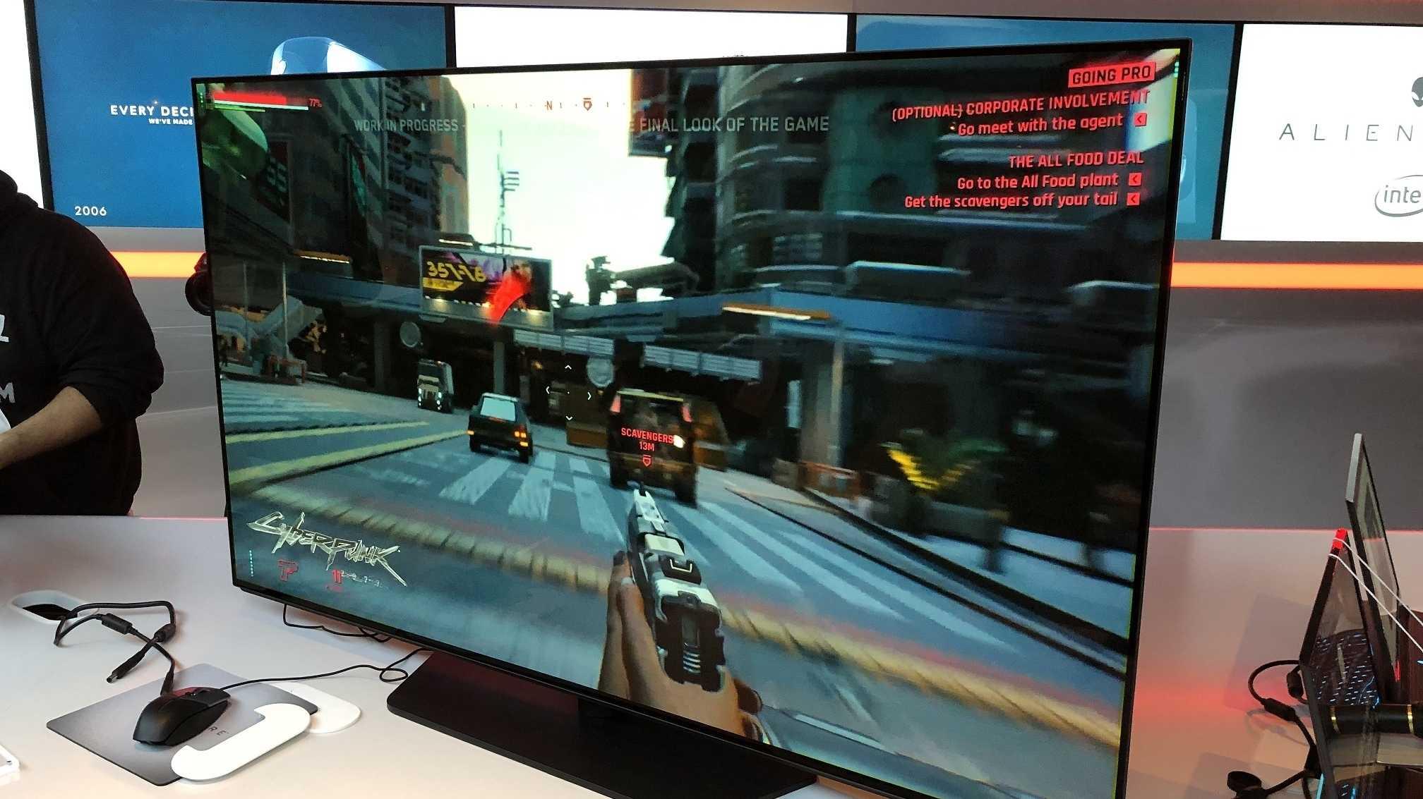 Alienware zeigt 55-Zoll-OLED-Monitor