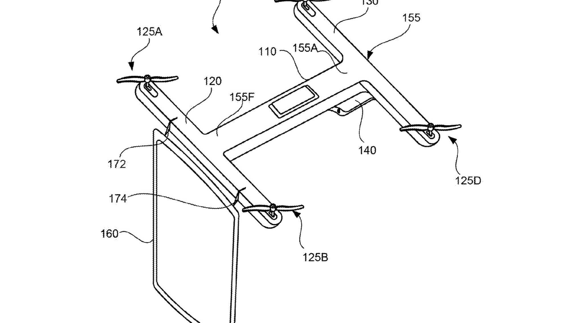 Google lässt sich Videokonferenz mit Quadcopter patentieren