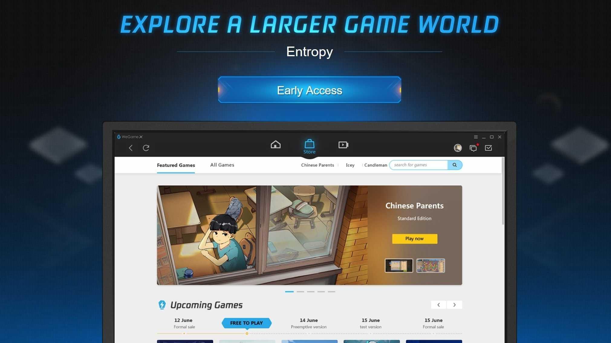 WeGame X: Tencent startet Spiele-Store auch im Westen