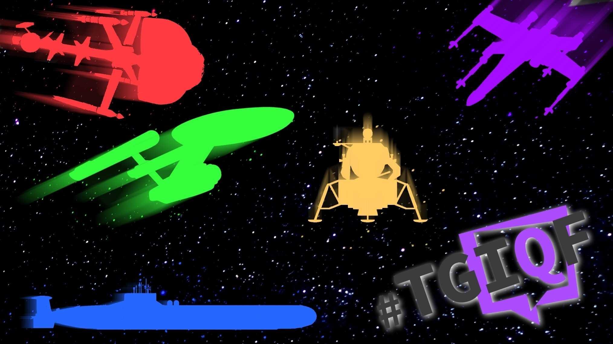 #TGIQF - das Quiz: Raumschiffe und ihre Kapitäne
