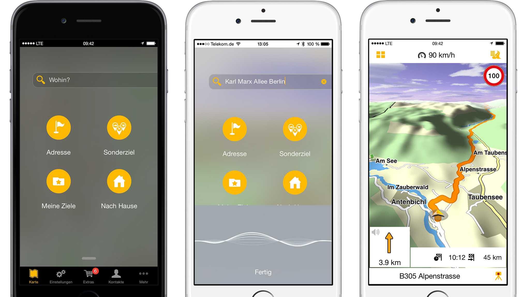 Navigon-App soll Zielsuche vereinfachen