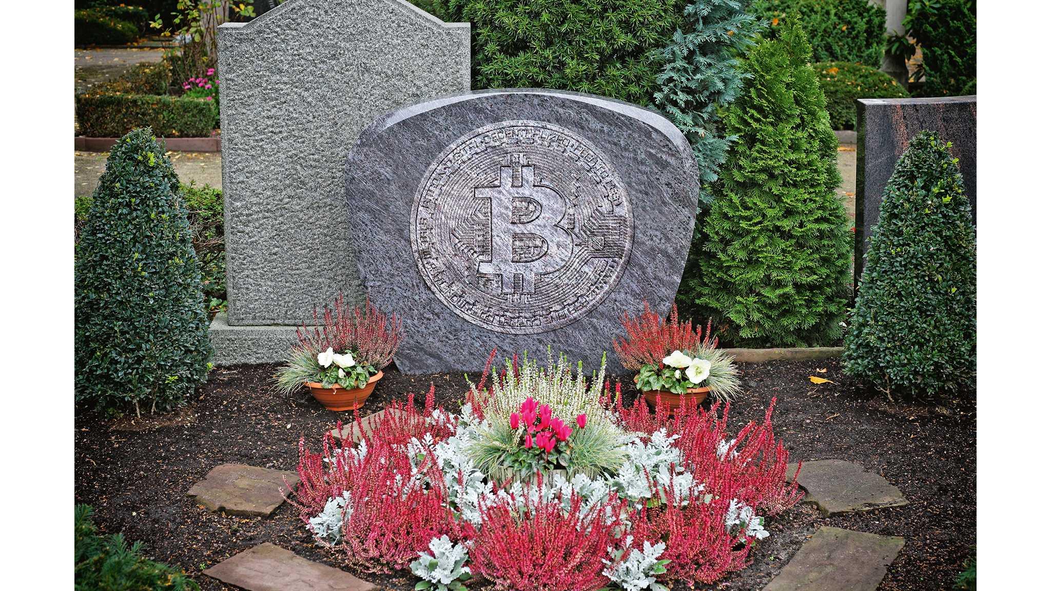 Tausende Bitcoins als Grabbeigabe