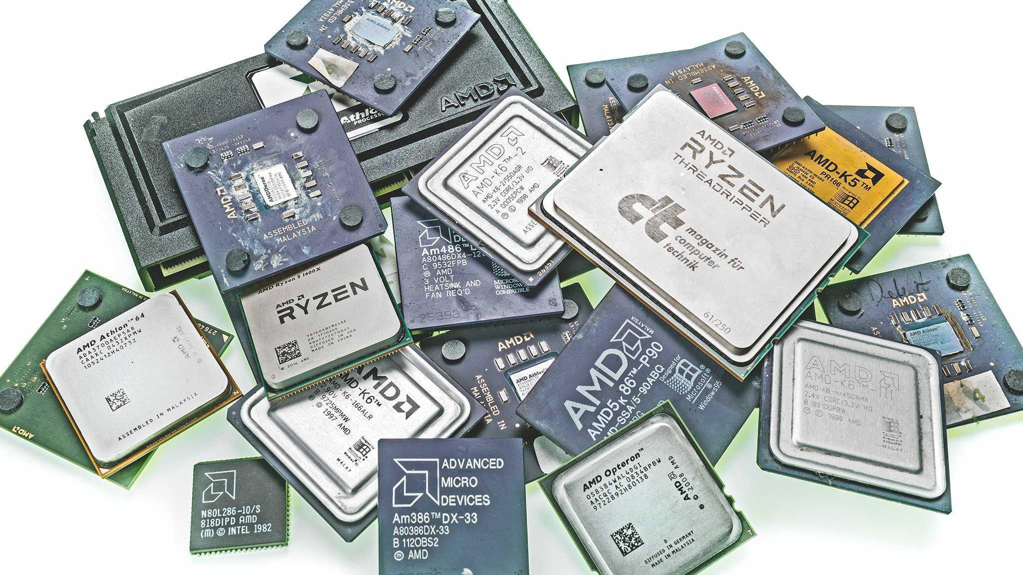 50 Jahre AMD: Vom 4-Bit-Register zur 64-Kern-CPU