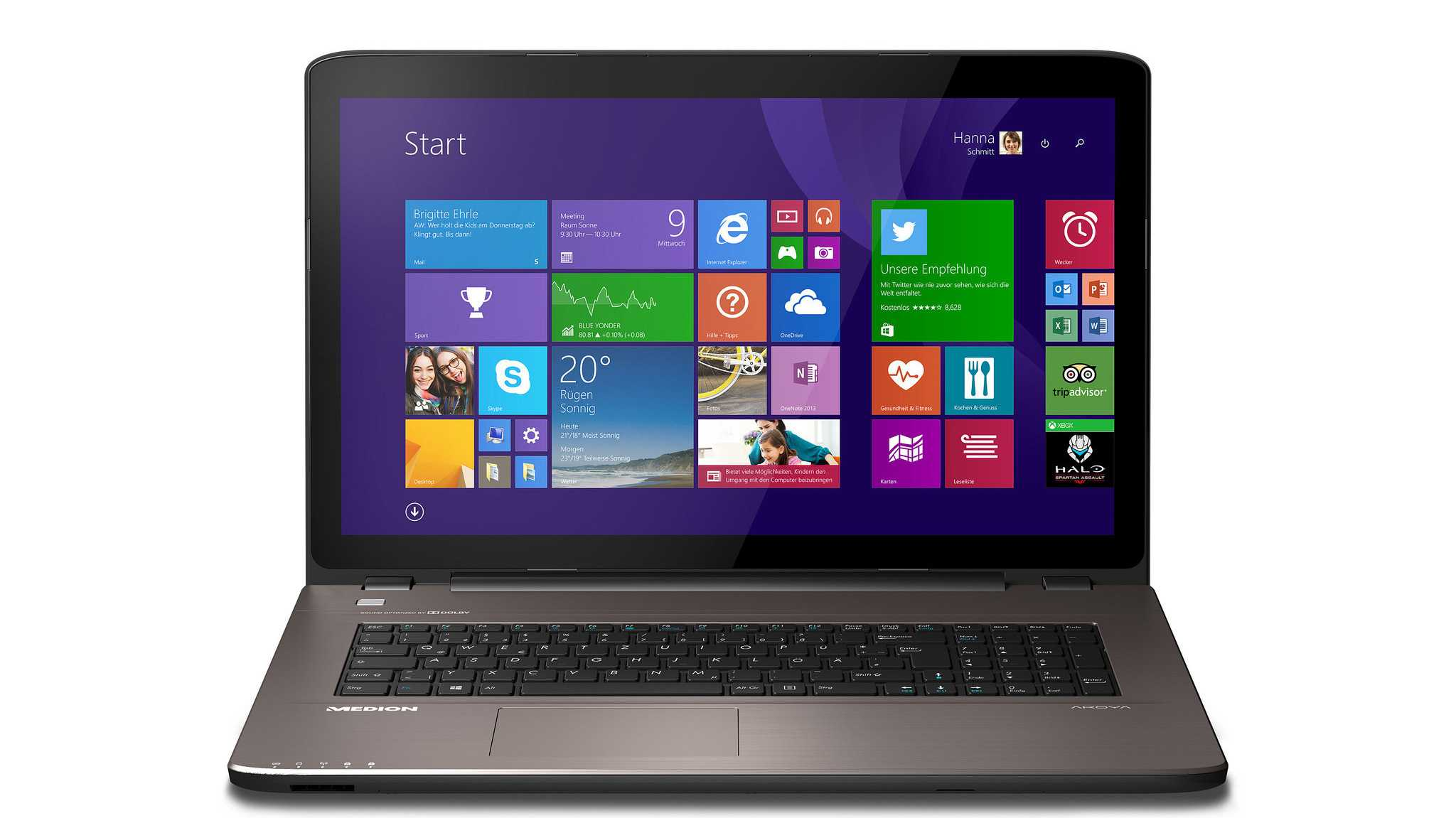 Neue Aldi-Notebooks mit Broadwell-CPUs