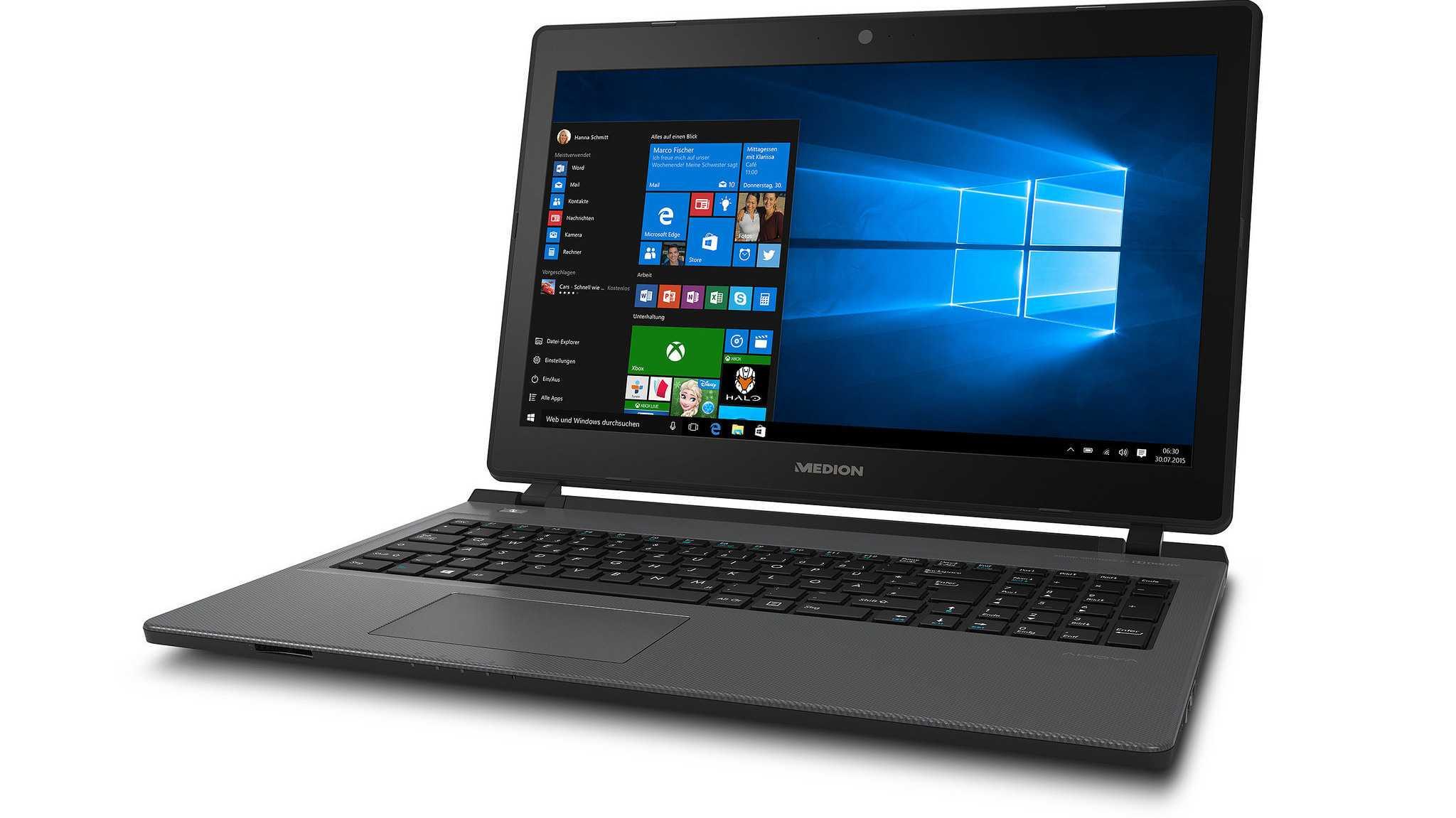 Akoya P6600: Vernünftig ausgestattetes 15-Zoll-Notebook für 600 Euro