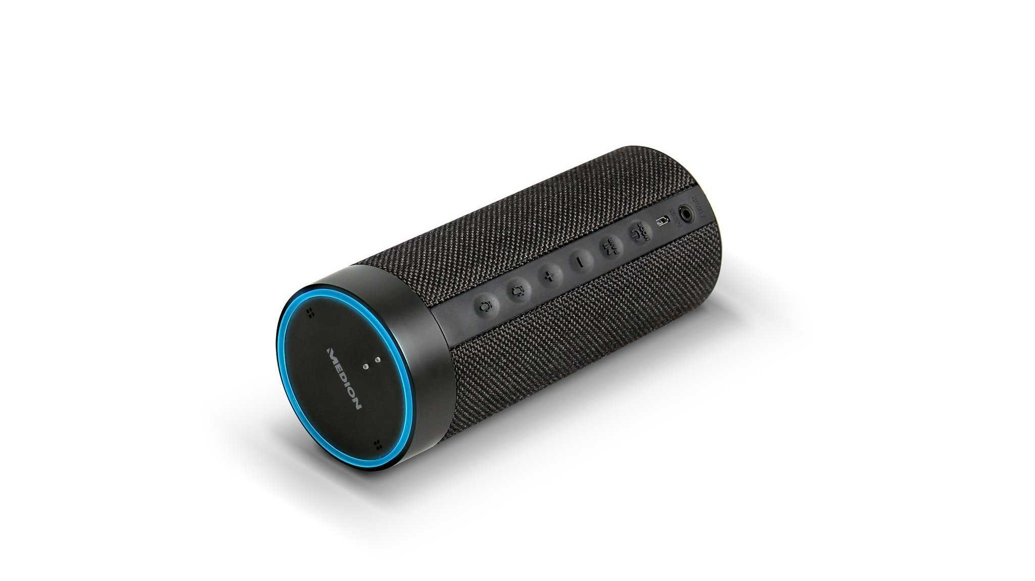 Medion: Neuer Alexa-Lautsprecher funktioniert auch kabellos