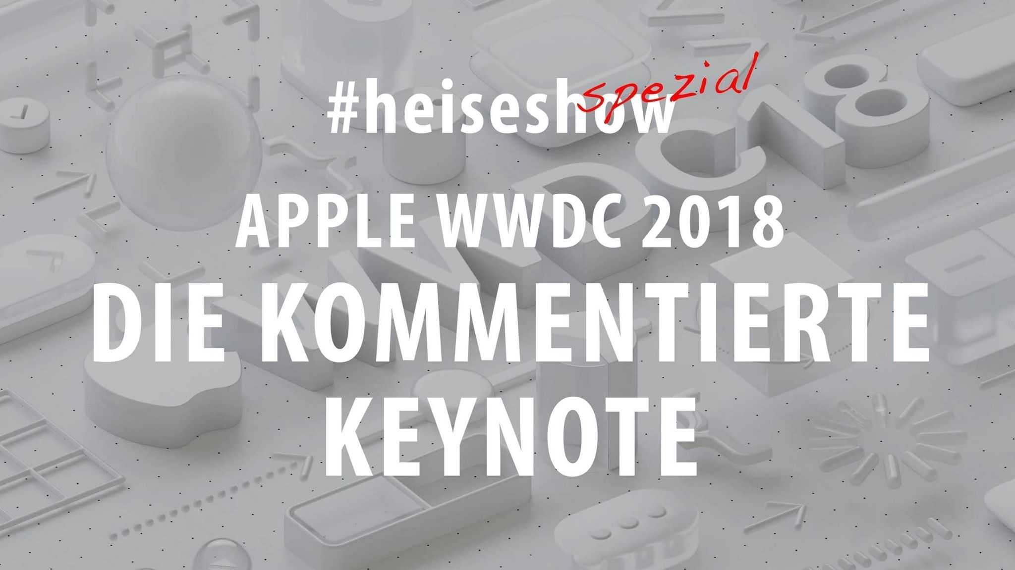 Apple WWDC 2018: Keynote live kommentiert